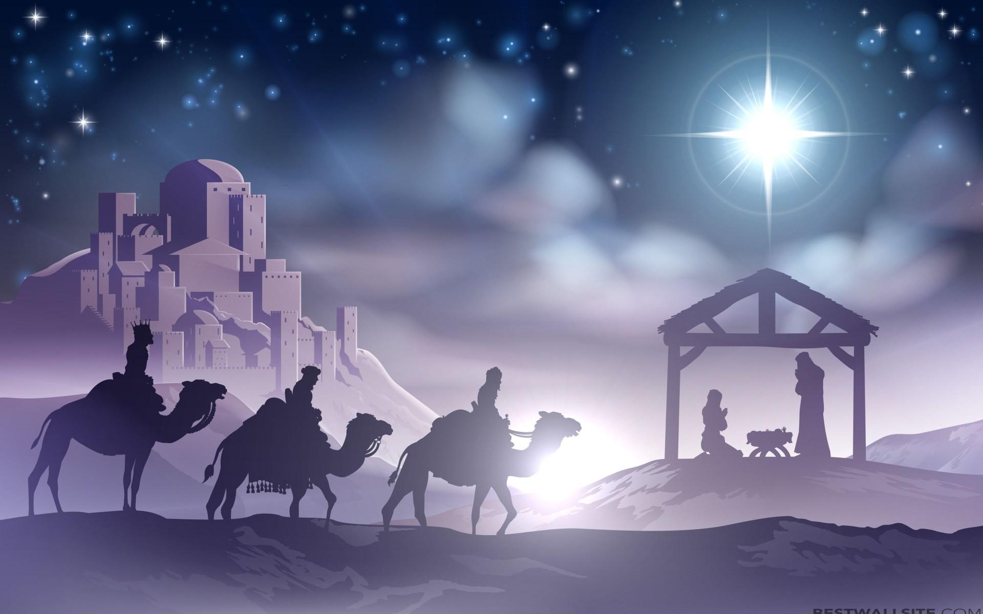 Christmas Eve Nativity Scene