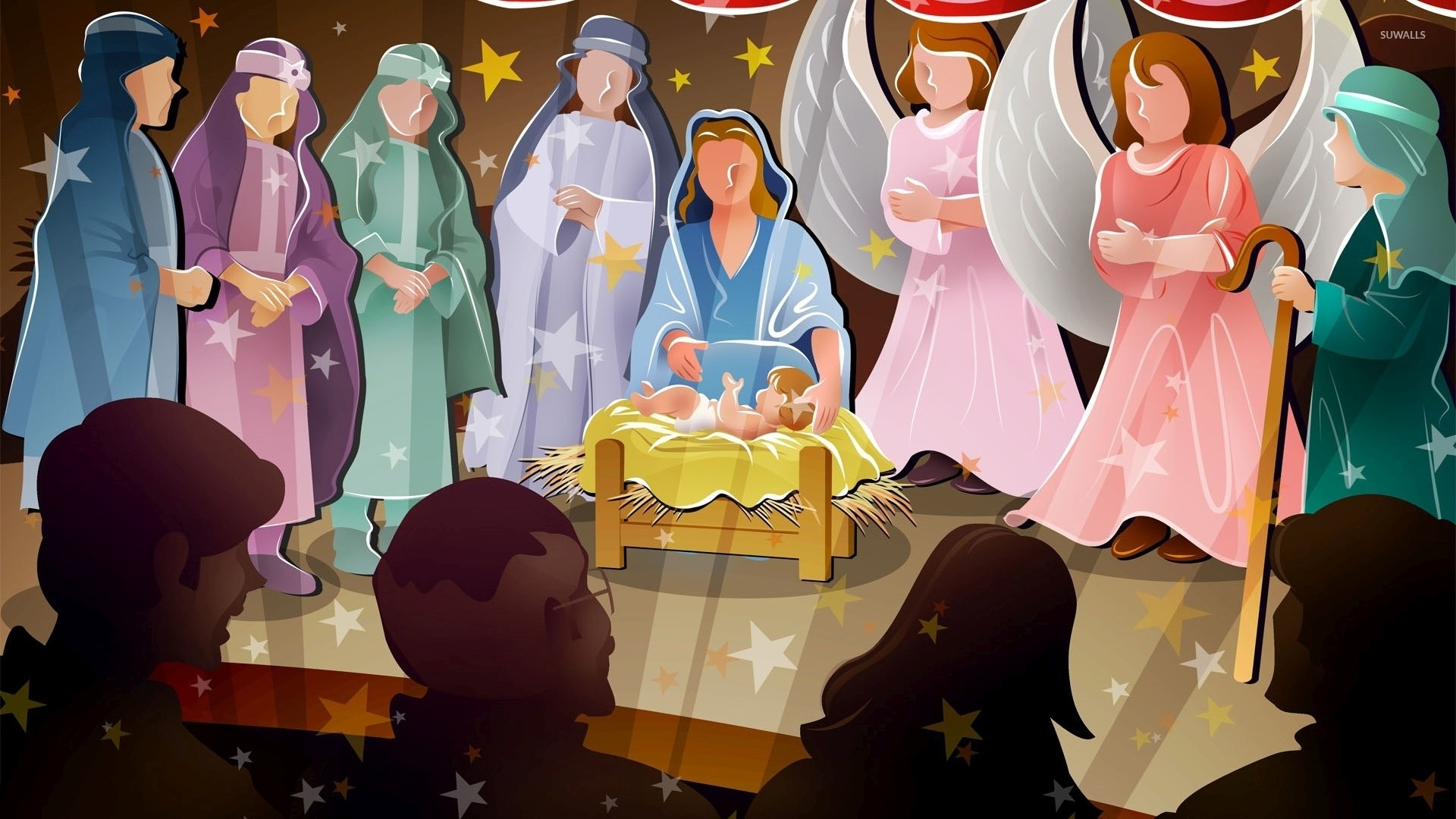 Nativity scene [2] wallpaper jpg