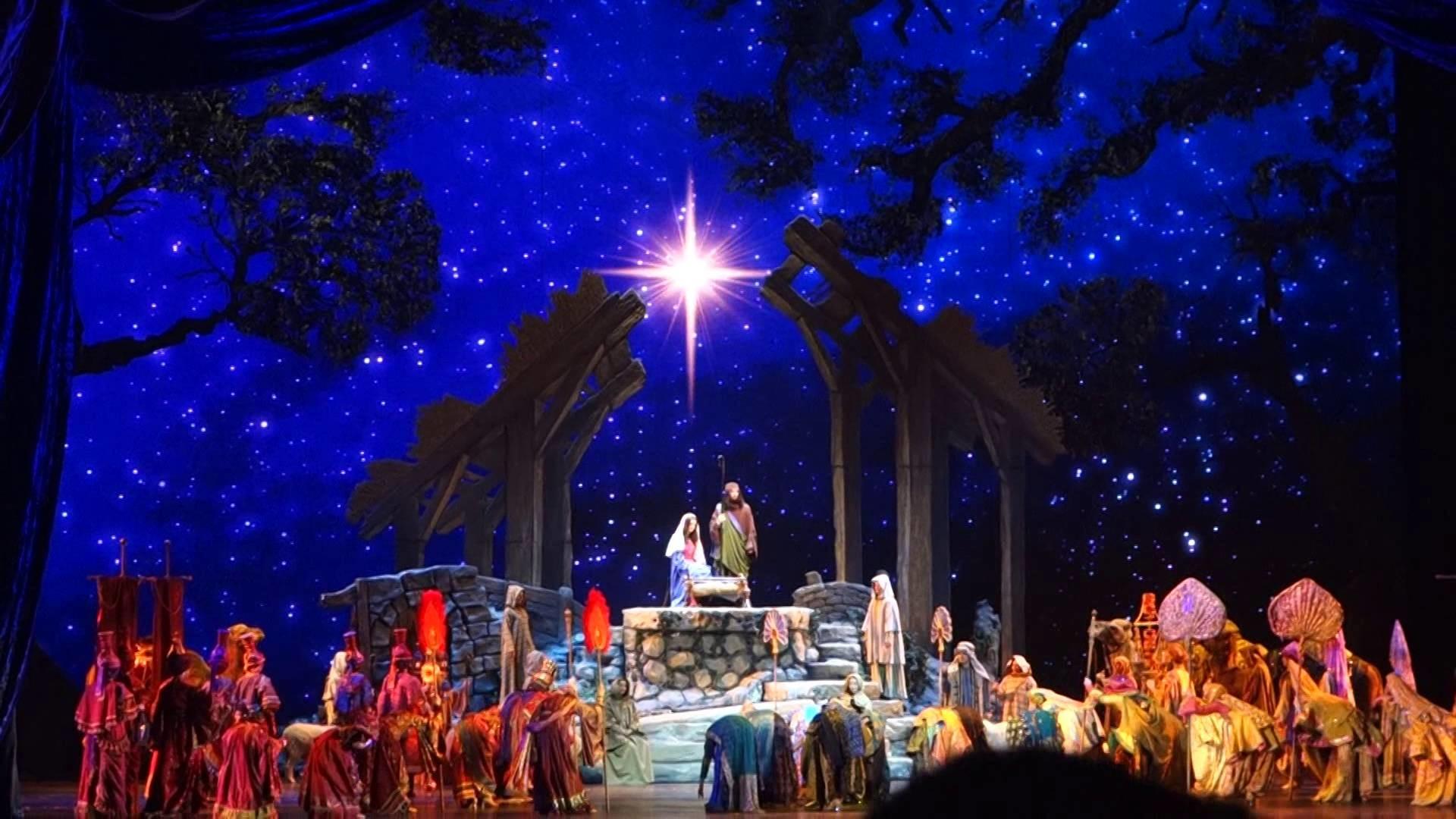 Nativity Scene….Radio City Music Hall Christmas Spectacular 2015