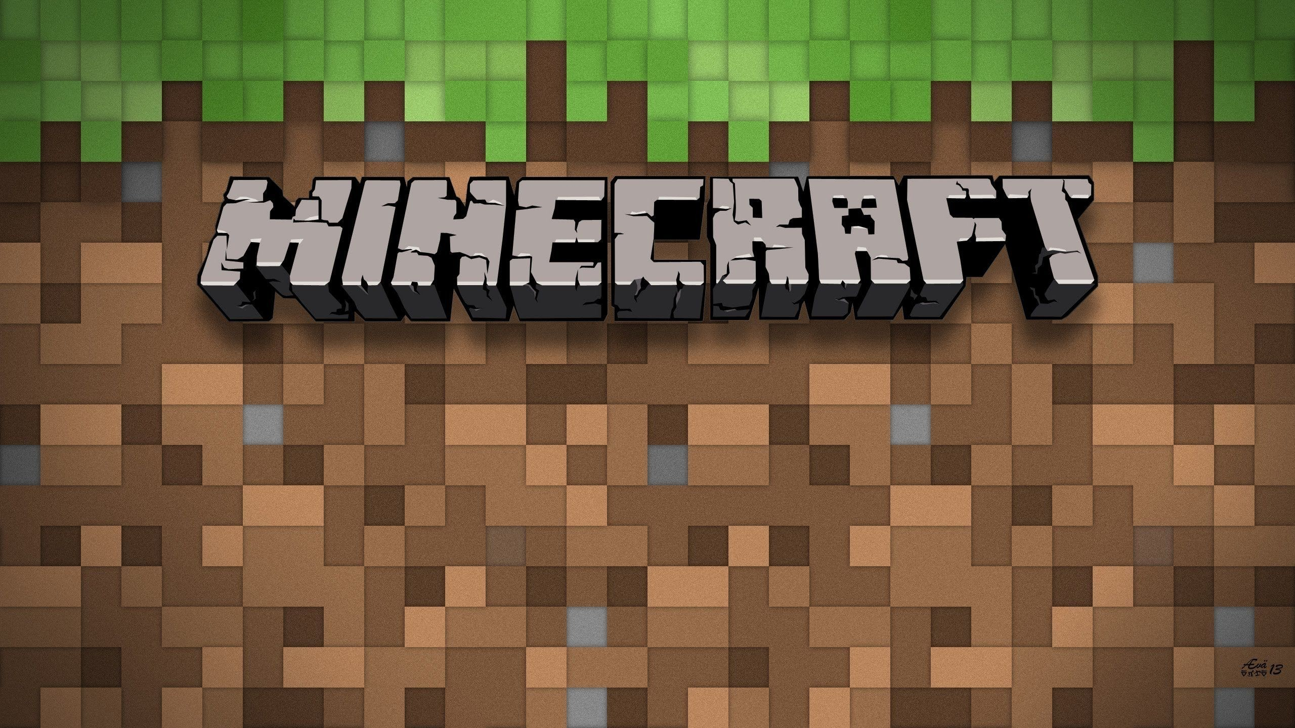 Minecraft Youtube, grass, logo, HD Wallpaper and FREE .