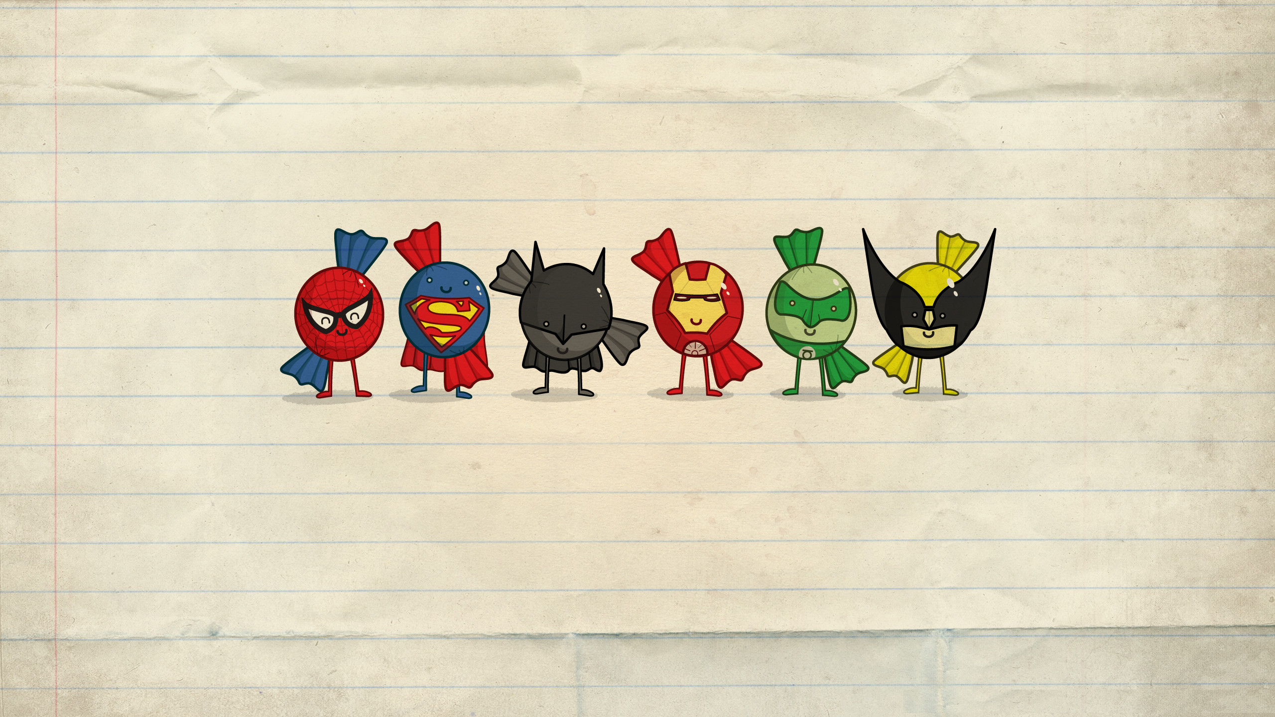 Minimalist Wallpaper Superhero 248167