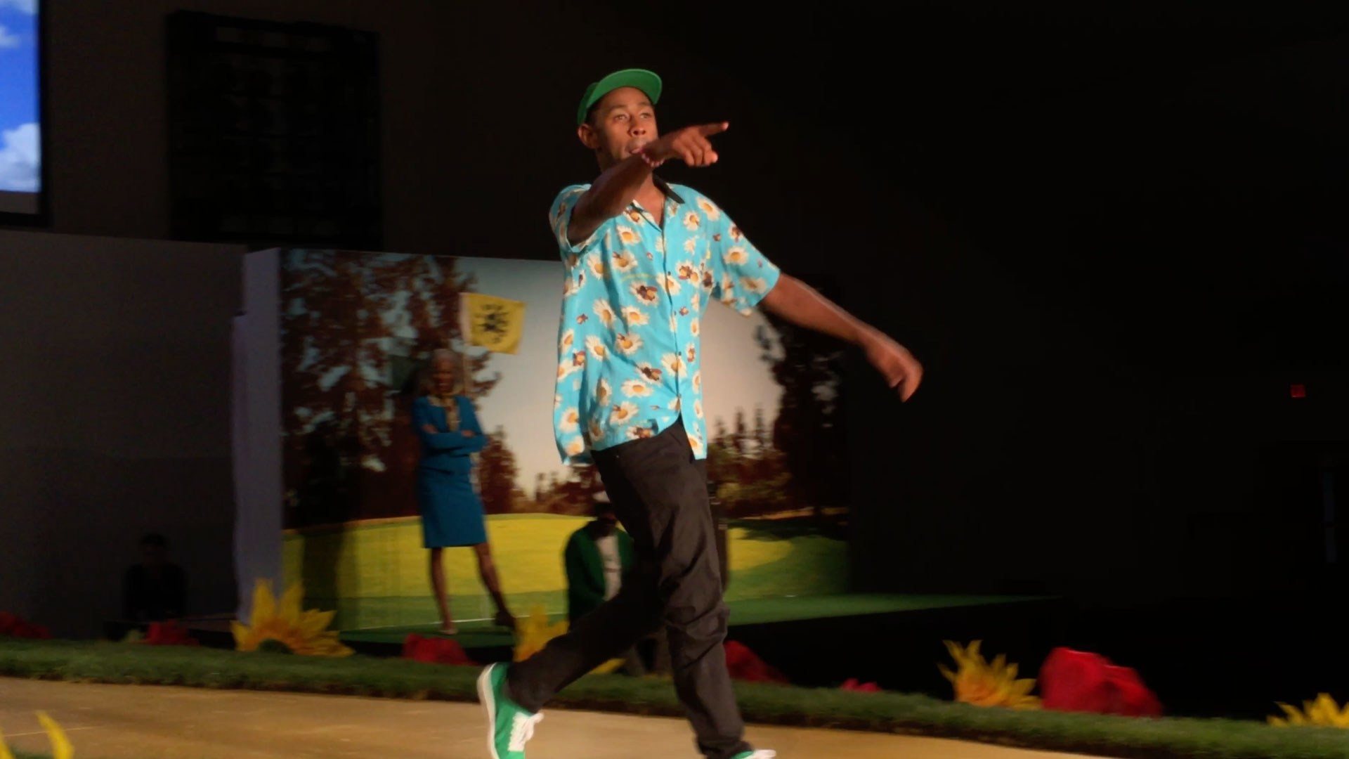 Tyler, the Creator's Golf Wang Fashion Show Debuts in Los Angeles – Vogue