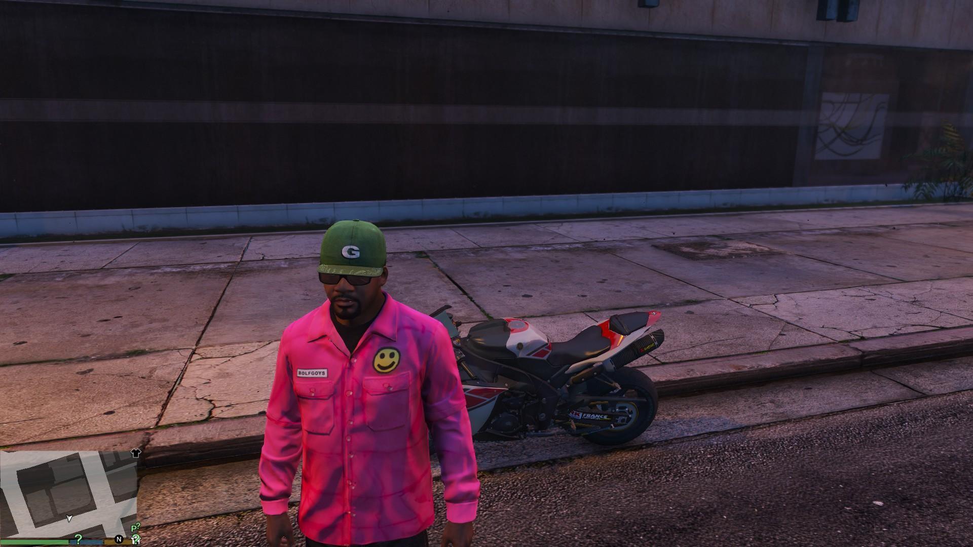 Bolf Goys Nylon Spring Slim Fit Jacket Pink (Golf Wang) – GTA5-Mods.com