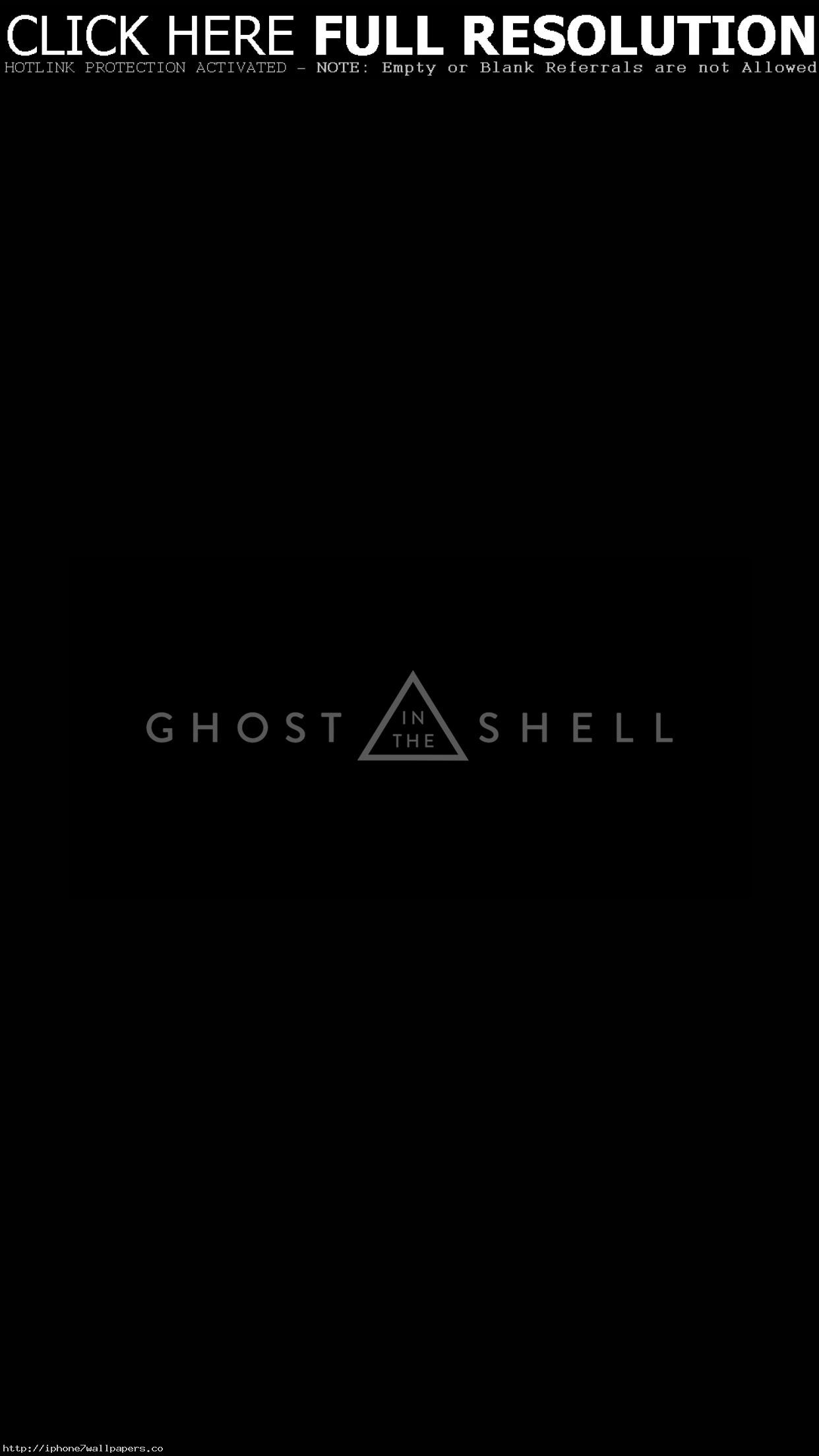 Ghost In The Shell Dark Logo Film Illustration Art Android wallpaper –  Android HD wallpapers