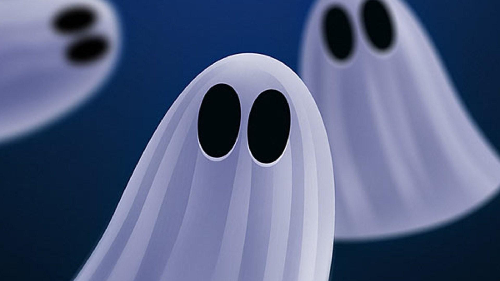 Pattern – Ghost Cute Spooky Wallpaper