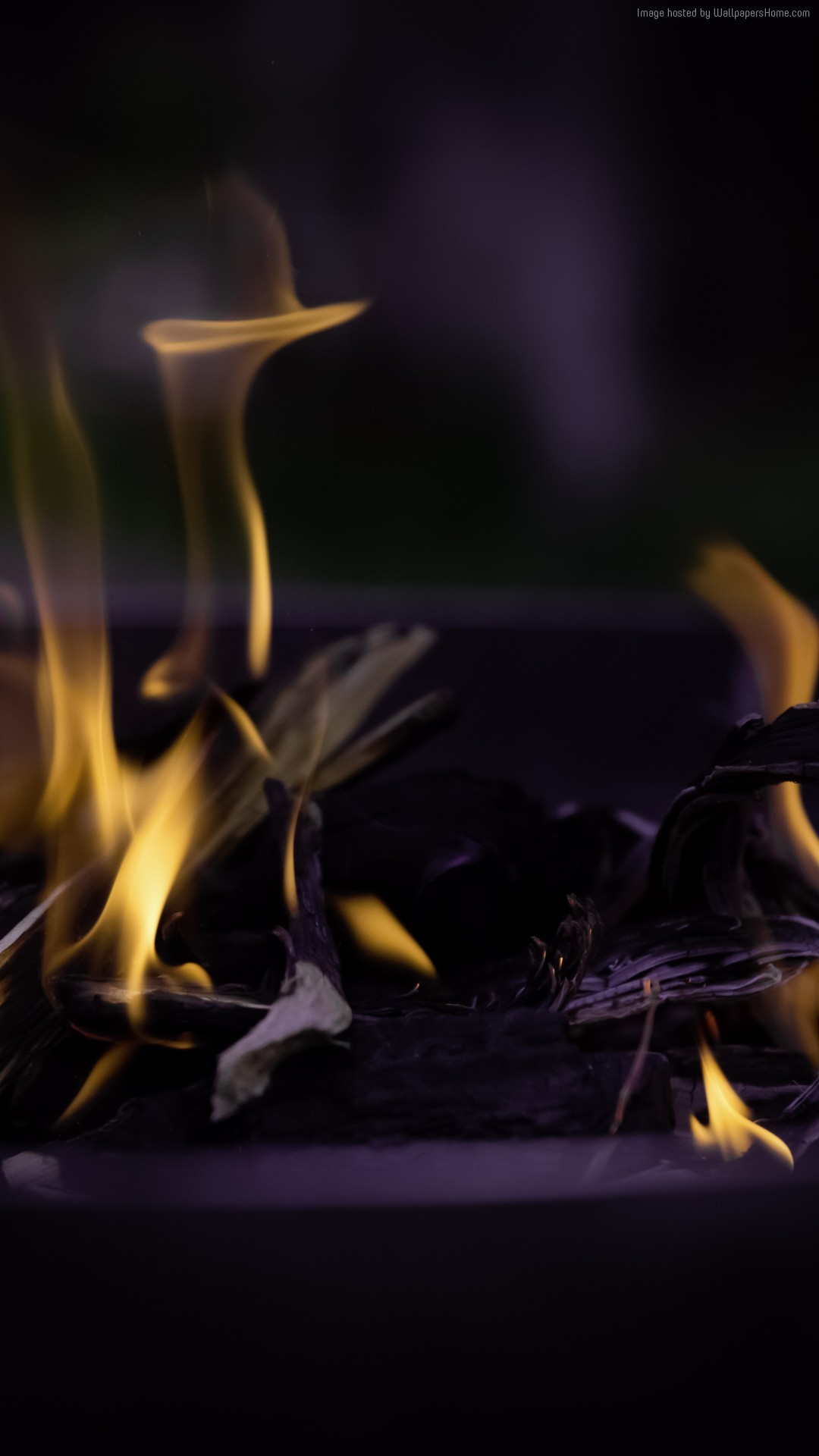 … ogon wallpaper iPhone 7 fire flame macro bonfire …