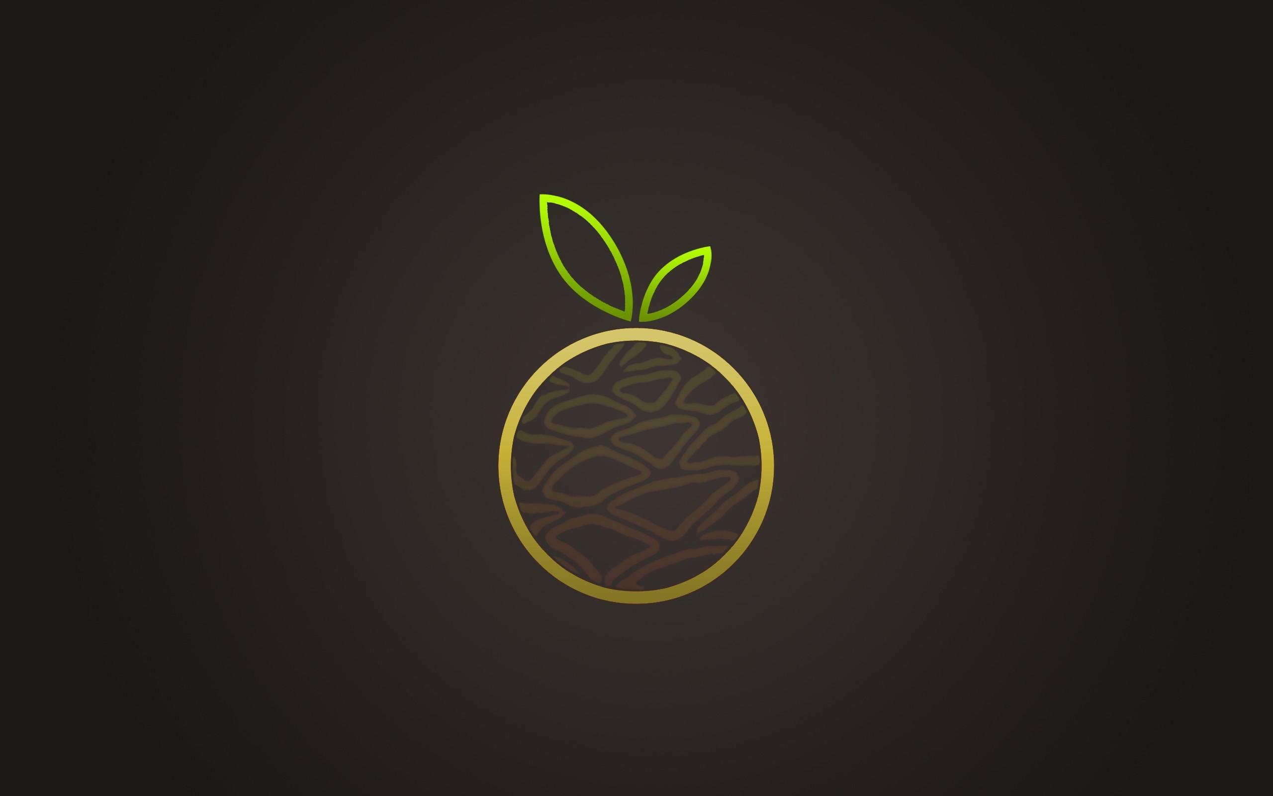black design apple brown