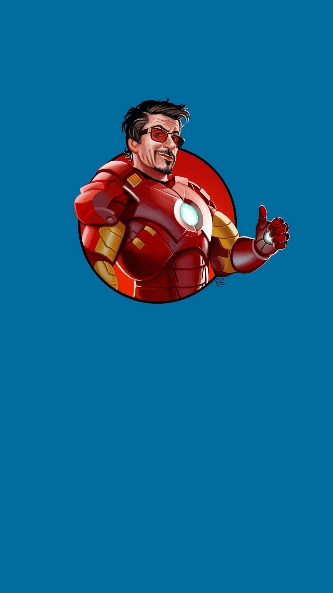 Iron-Man iPhone 6 Plus wallpaper