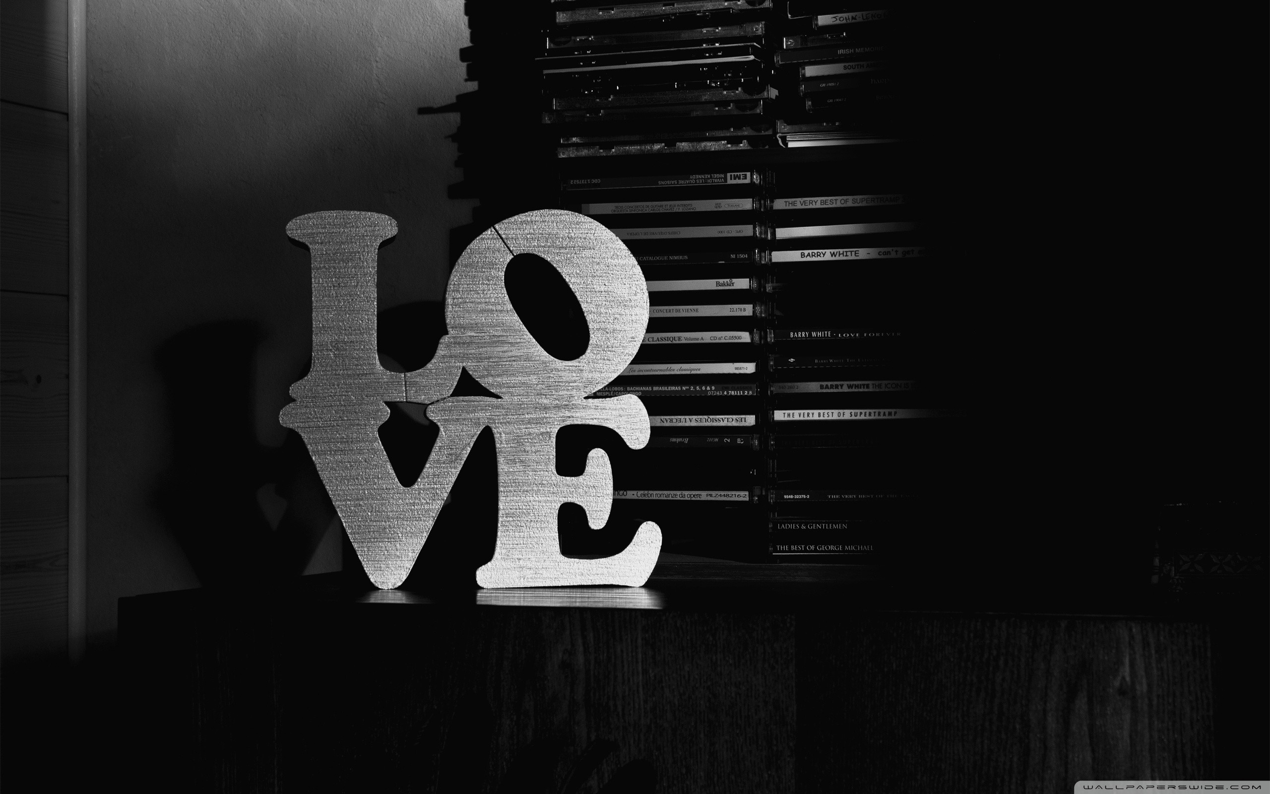 … love black and white hd desktop wallpaper high definition …