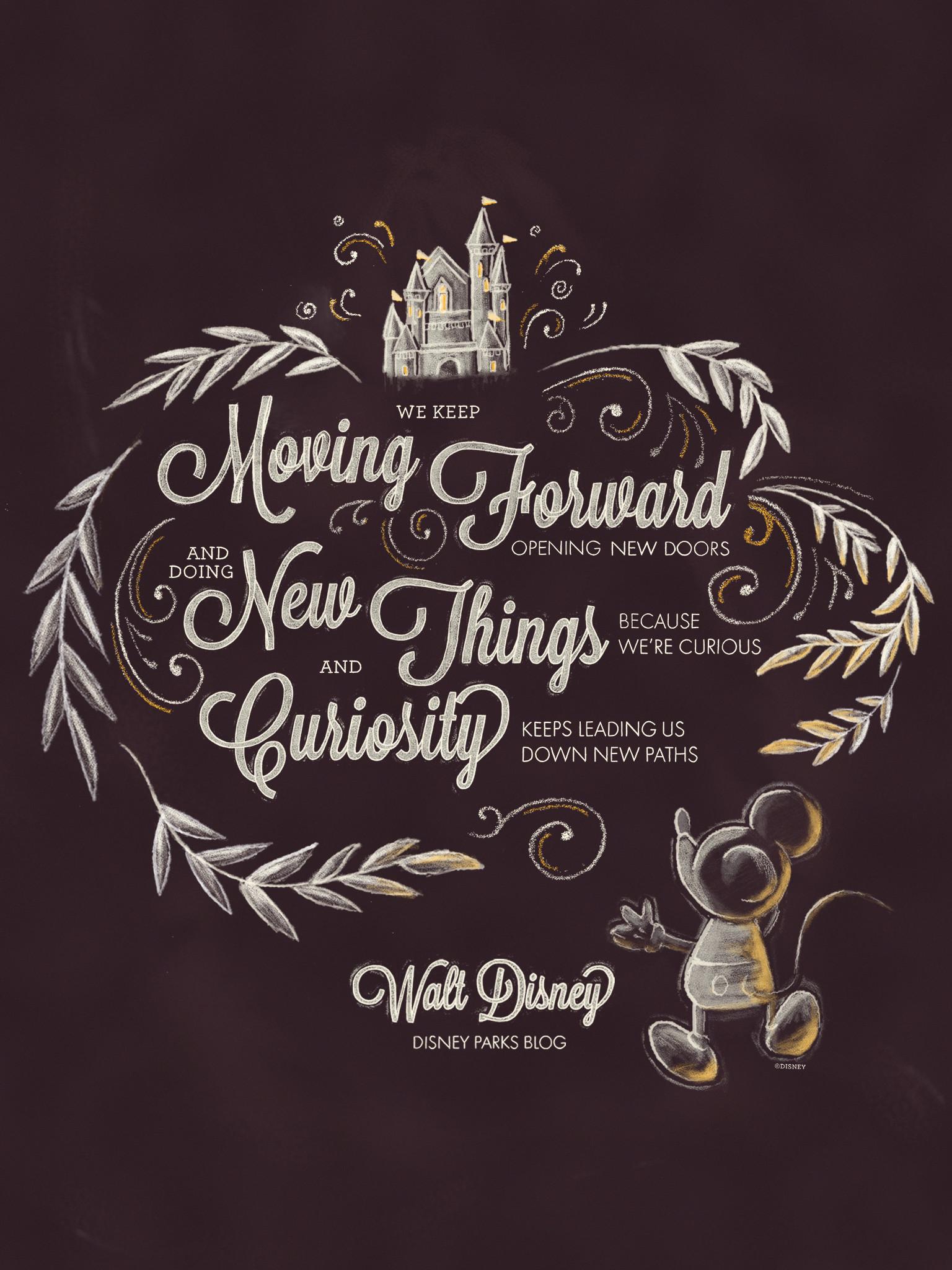 Exclusive: Walt Disney Desktop/Mobile Wallpaper