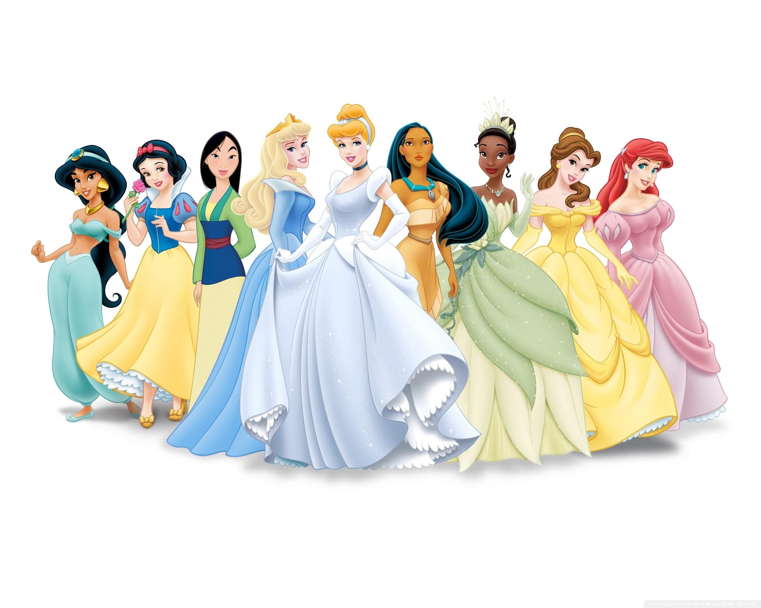 Disney Princess HD Wide Wallpaper for Widescreen