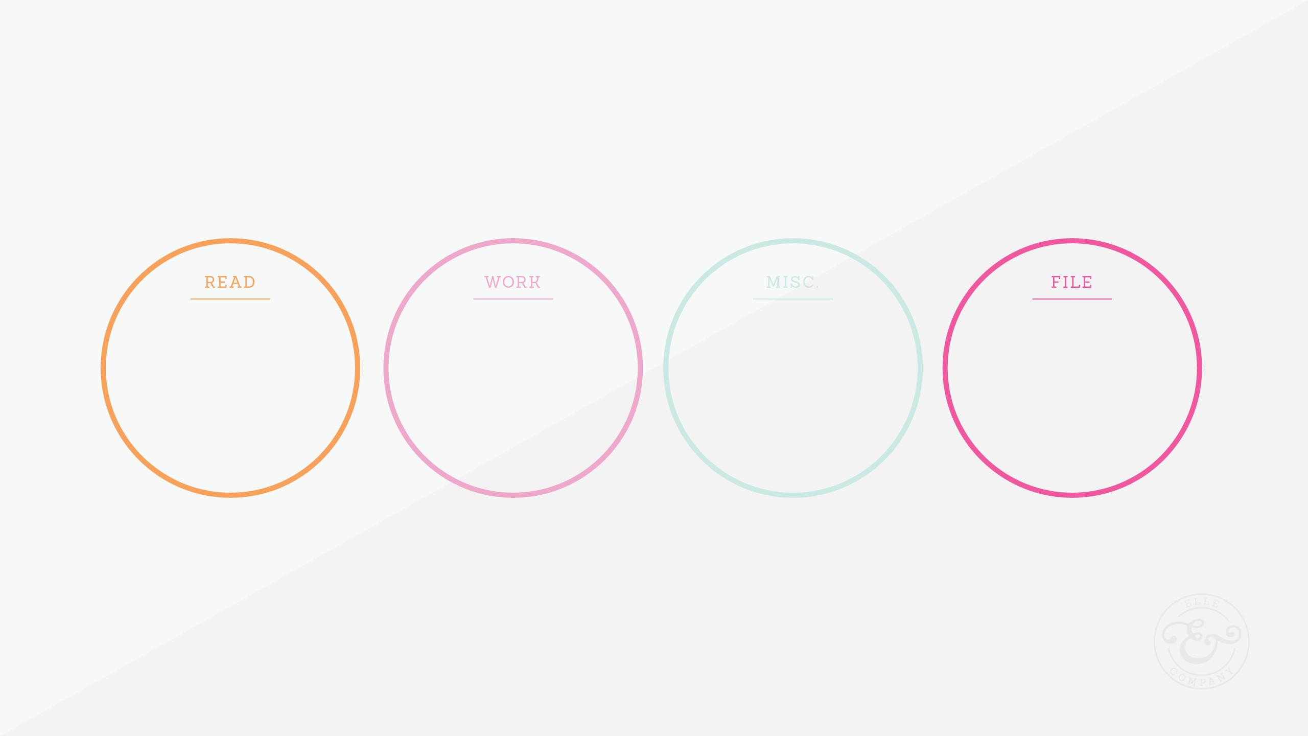 Pretty minimal desktop organizer wallpaper background – love the clean  simplicity! | Teknik | Pinterest | Desktop organizer wallpaper, Wallpaper  backgrounds …