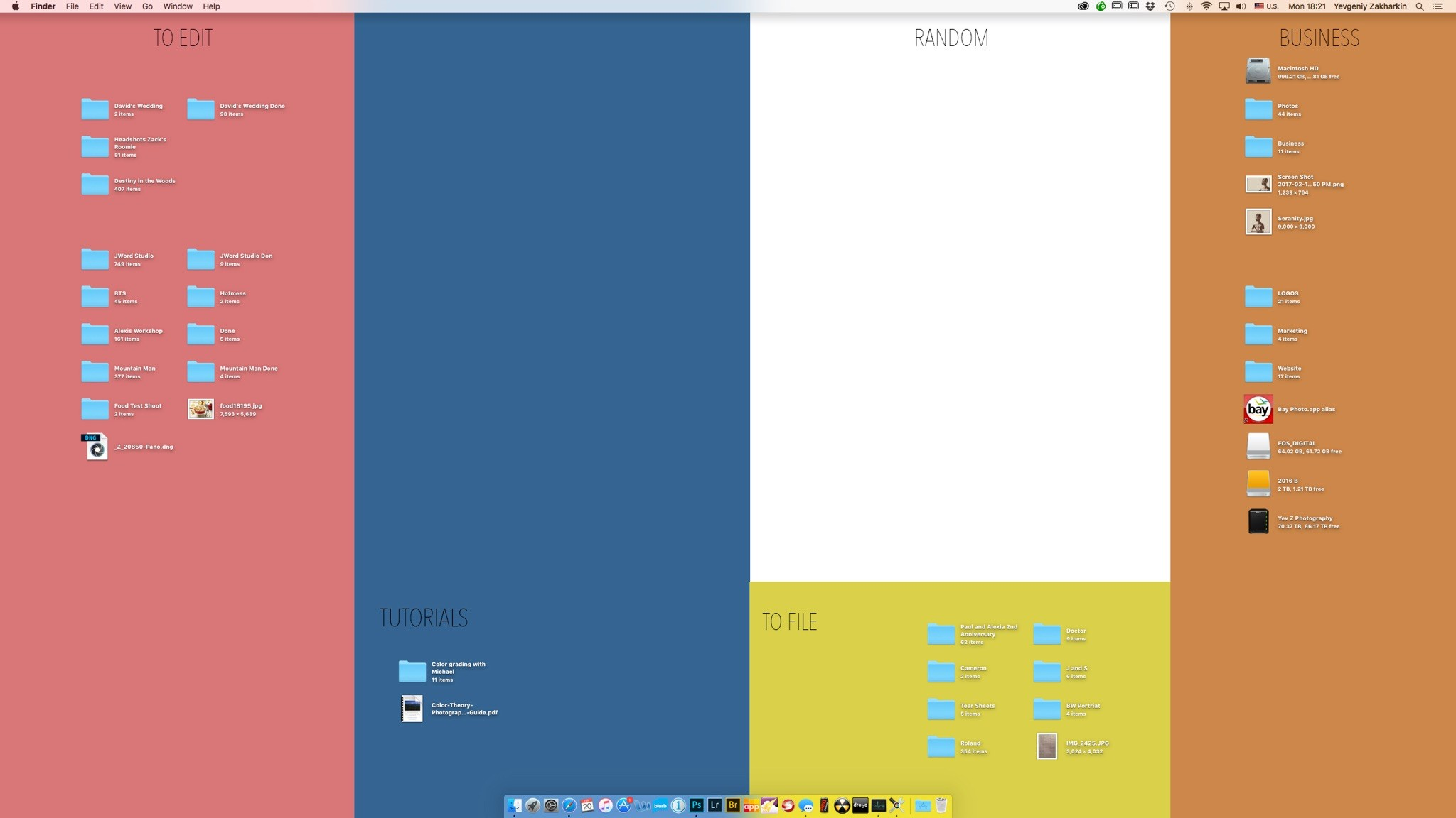 A Simple Way to Add Some Organization to Your Desktop