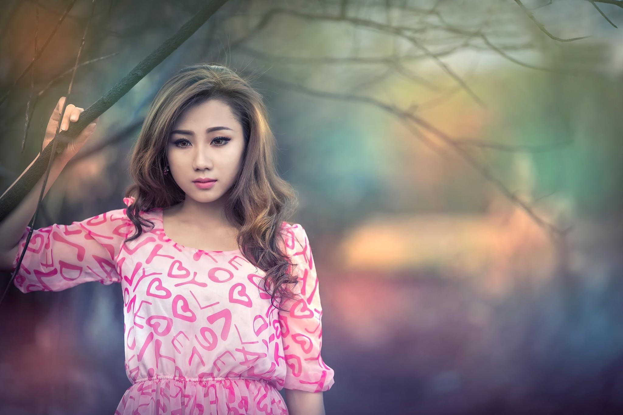 brunettes women beds Asians – Wallpaper (#20303) / Wallbase.cc   women    Pinterest   Asian wallpaper, High quality wallpapers and Wallpaper