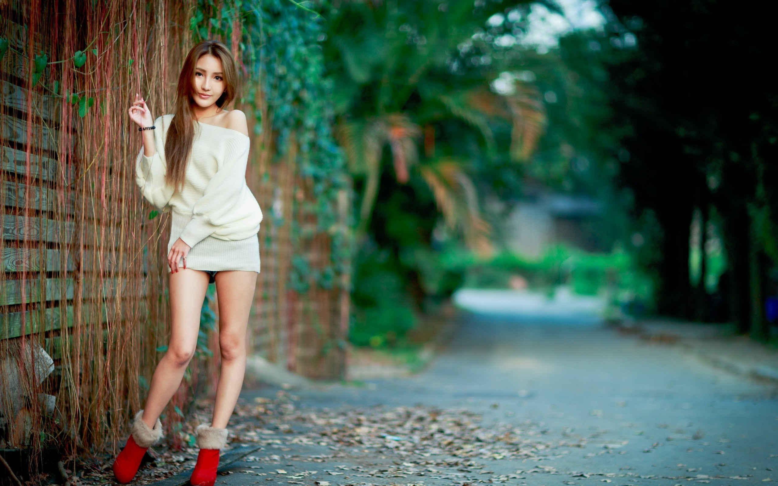 women Outdoors, Asian, Women, Model, Urban Wallpapers HD / Desktop and  Mobile Backgrounds
