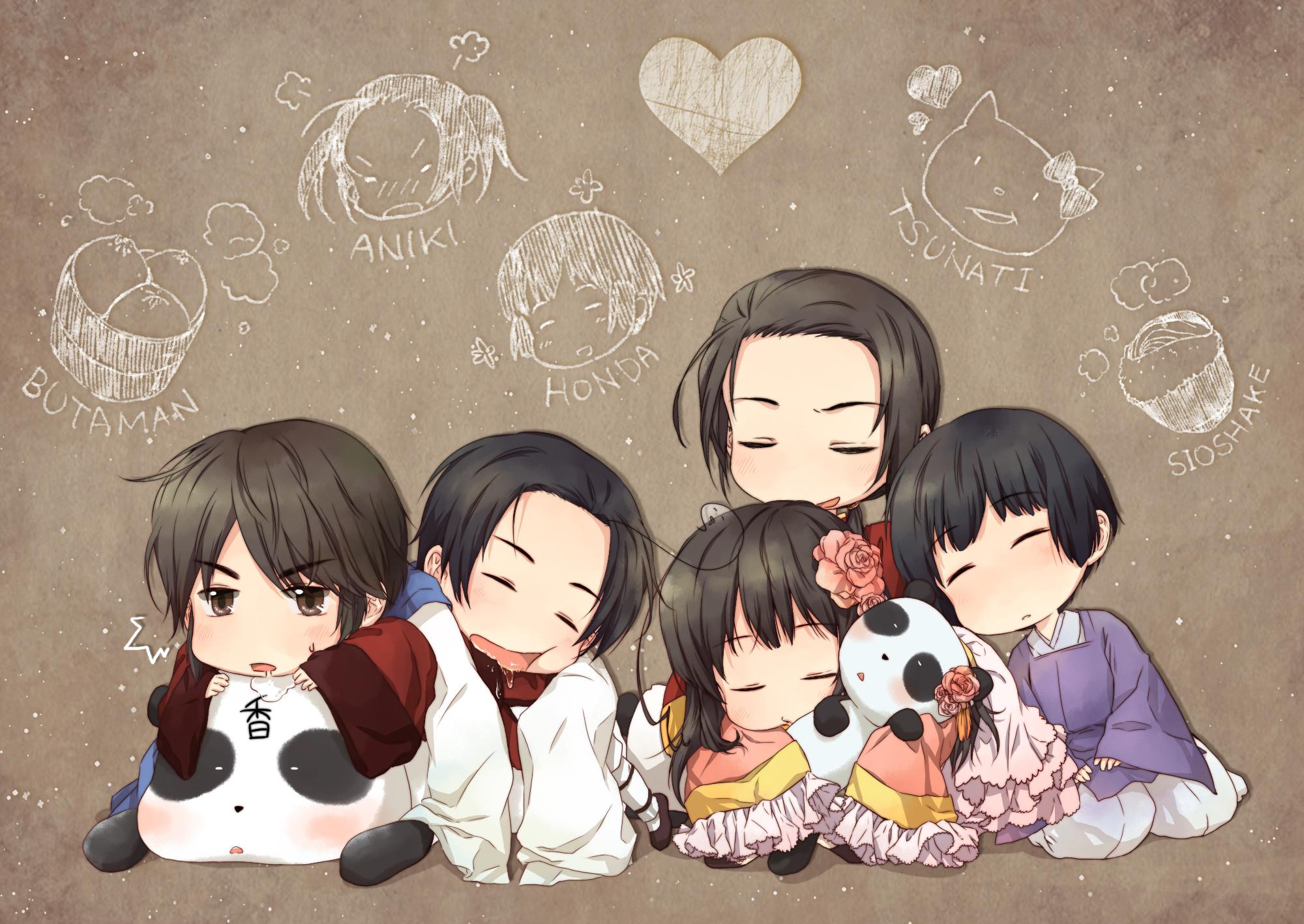 hetalia asian family images hetalia asian family HD wallpaper and background  photos
