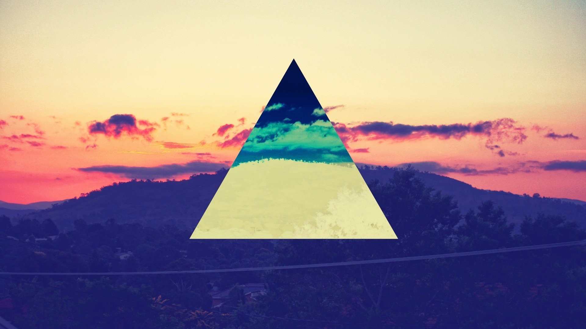Pink Floyd color spectrum hipster mountains scien Free HQ and widescreen  wallpapers