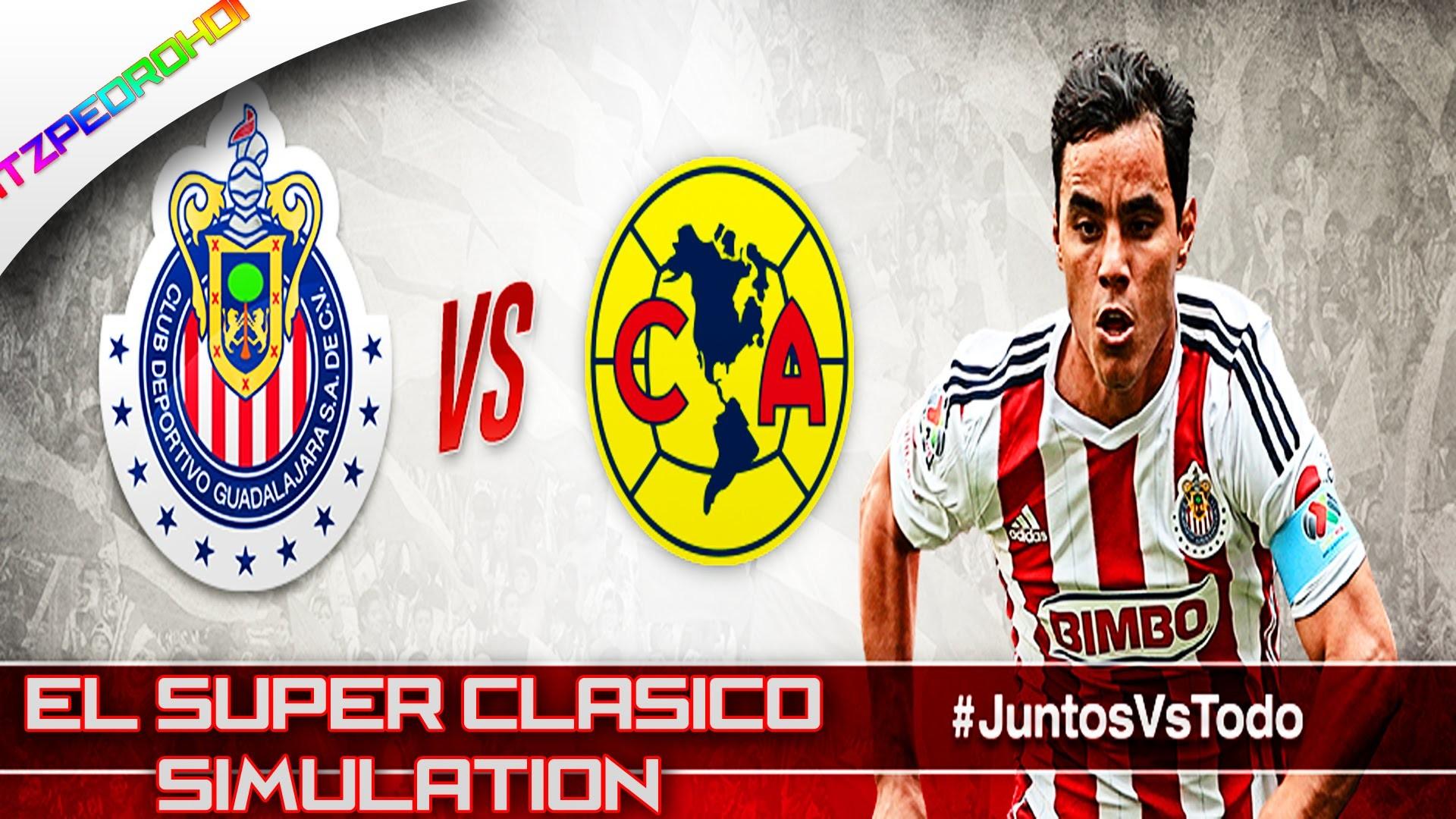 FIFA 15 Chivas Vs America Super Clasico Simulation ( Mexican Commentators )