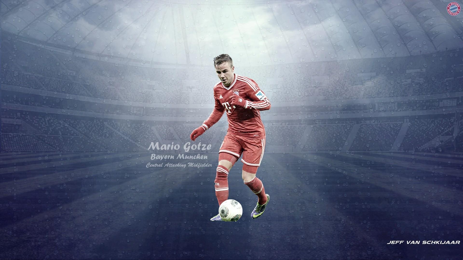 Mario+Gotze+Bayern+Munich+Wallpaper+HD+2014+#1