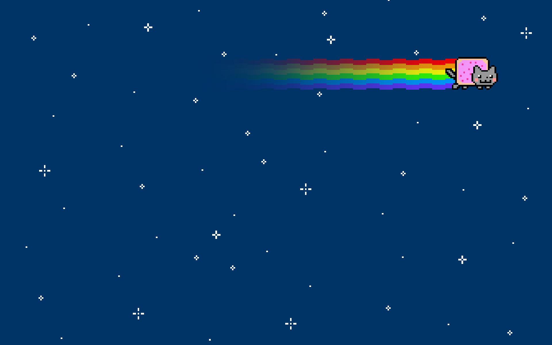 Nyan Cat Wallpapers Wallpaper 1920×1200