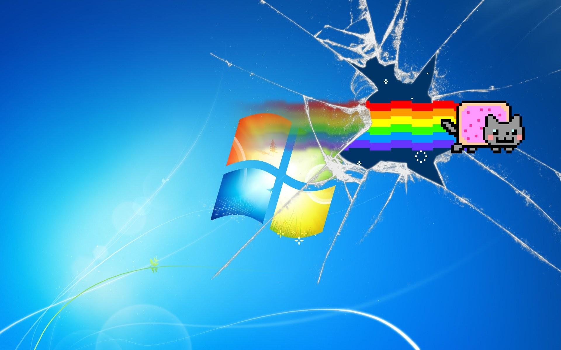 Nyan Cat Windows 7 782094