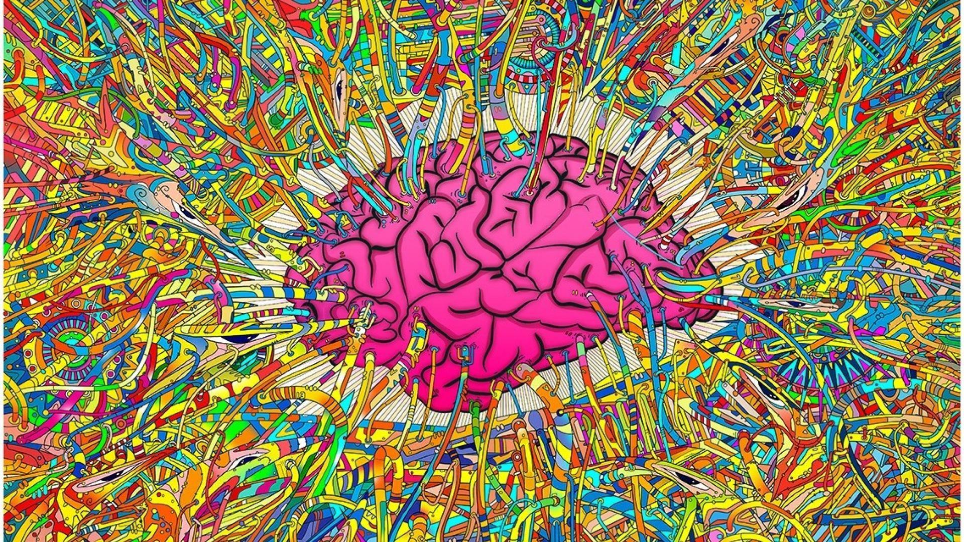 Brain Imagination Wallpaper