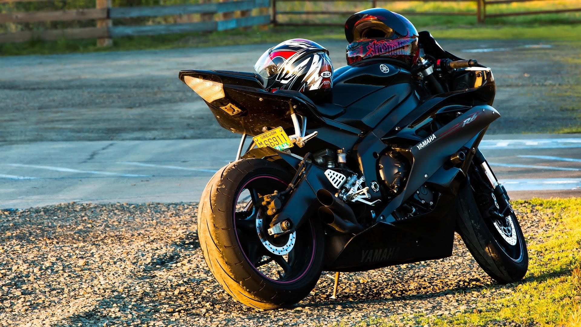 4K HD Wallpaper: Motorcycle. Super Bike. Yamaha R6