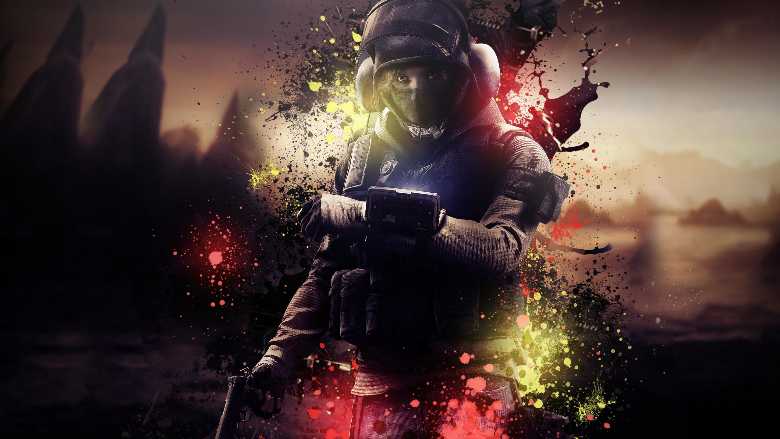 I'm back, with an IQ Wallpaper! : Rainbow6