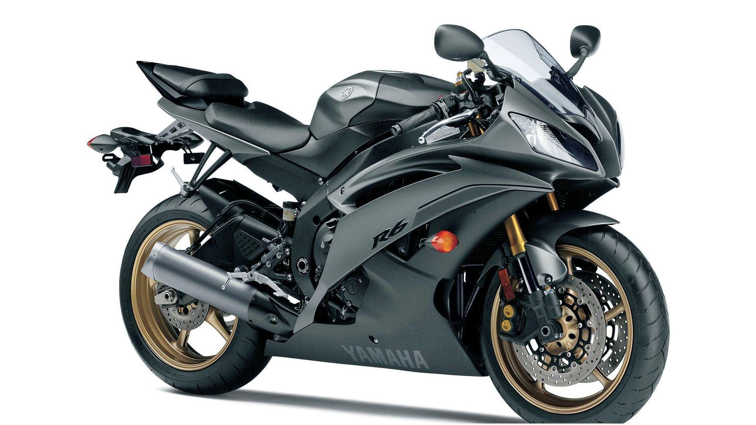 Yamaha YZF-R6 Sport Bike Motorcycle Desktop Wallpaper