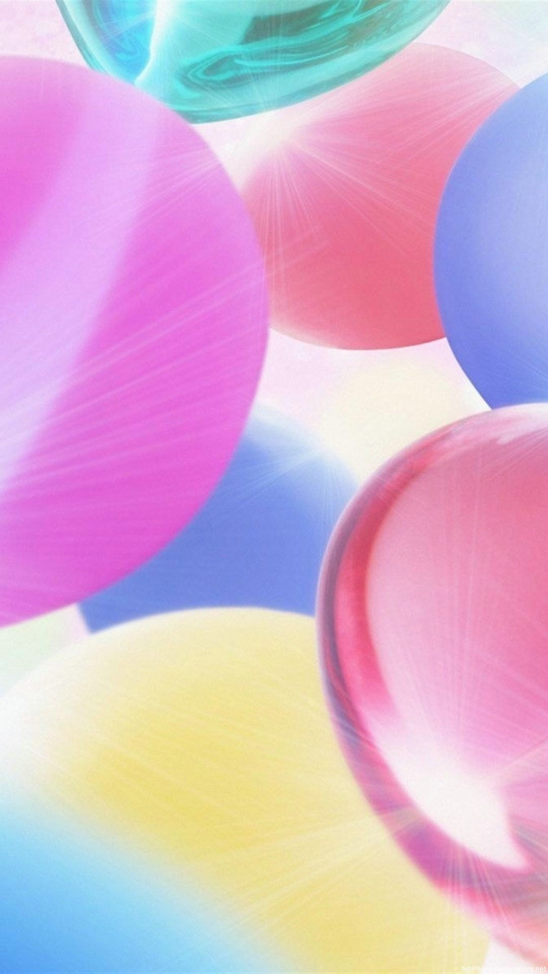 cool heart color bright iPhone 6 wallpapers HD – 6 Plus  backgrounds