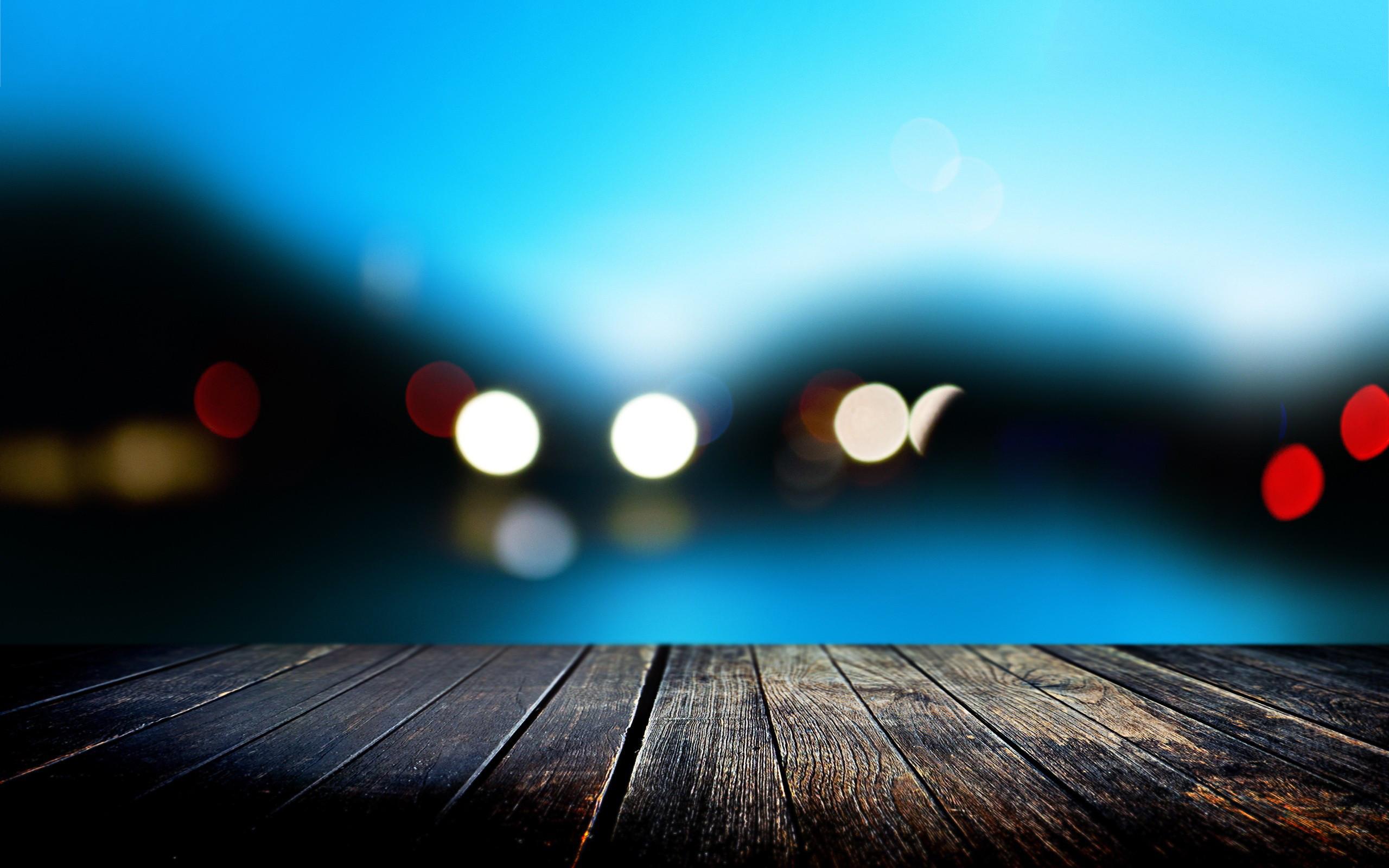 Pier evening lights