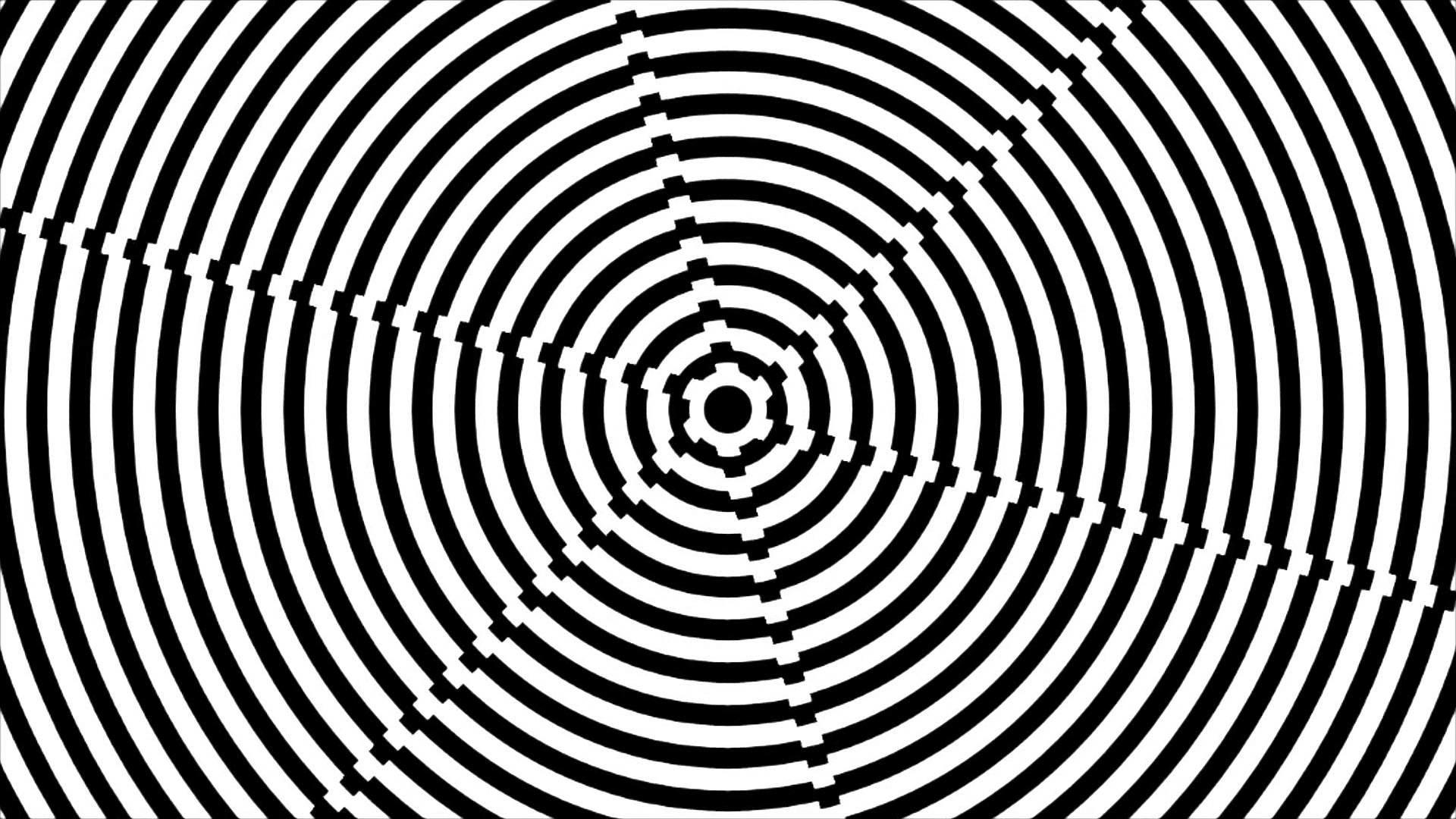 black and white Awesome Hypnosis Self Hypnotic Trance Hypnotism  Trancendental Meditation Technique