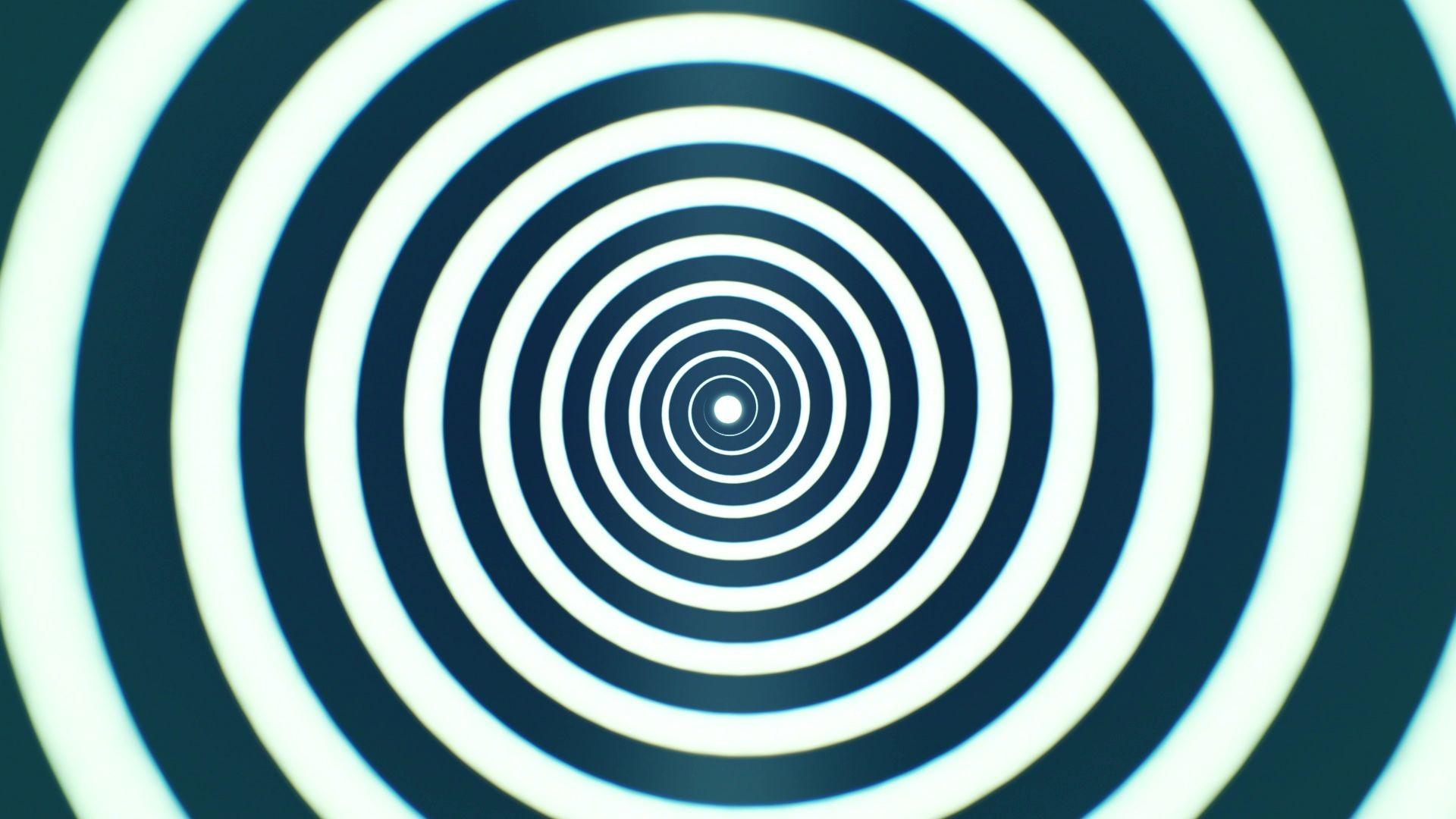 'Hypnotic Spiral 1' – Hypnosis Meditation Motion Background Loop_SampleStill