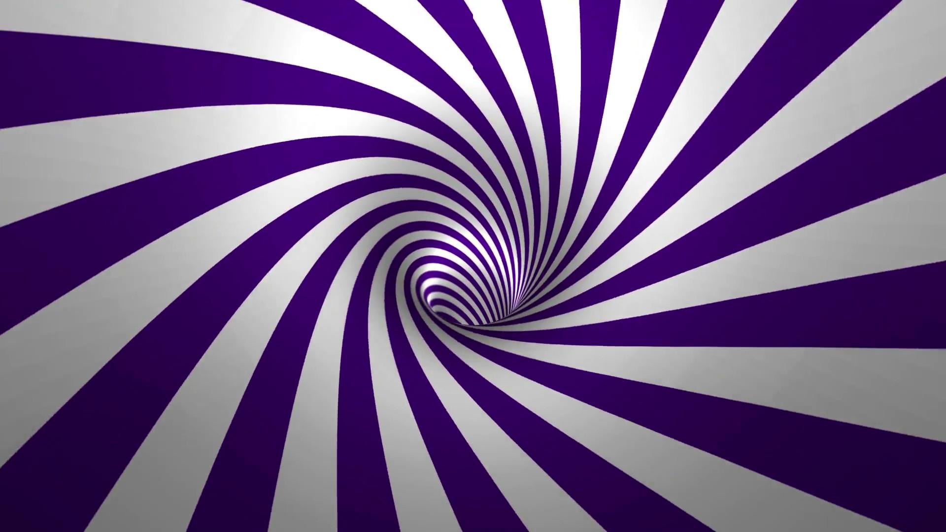 Hypnotic spiral , purple and white background in 3D Motion Background –  VideoBlocks