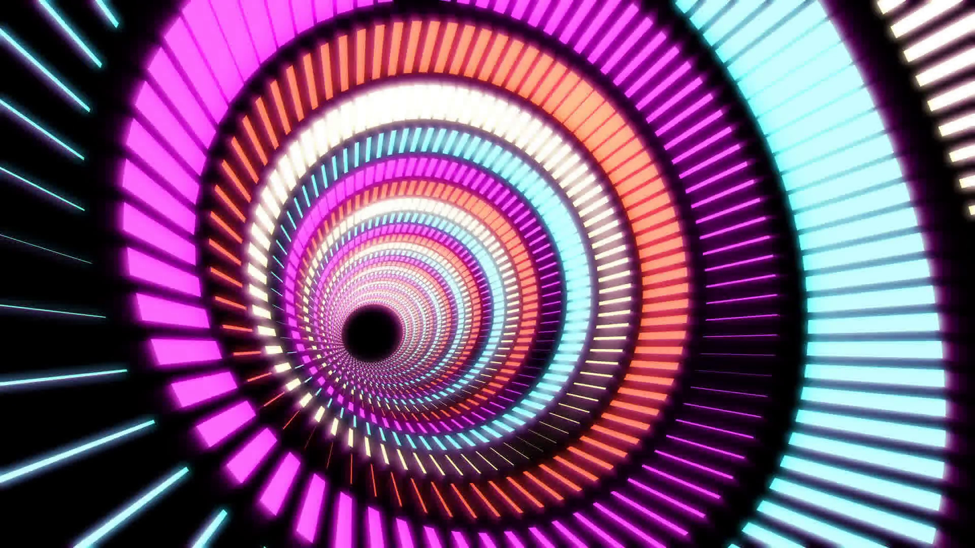 Abstract background colorful circles perpetually moving, hypnosis,  hallucination Motion Background – VideoBlocks