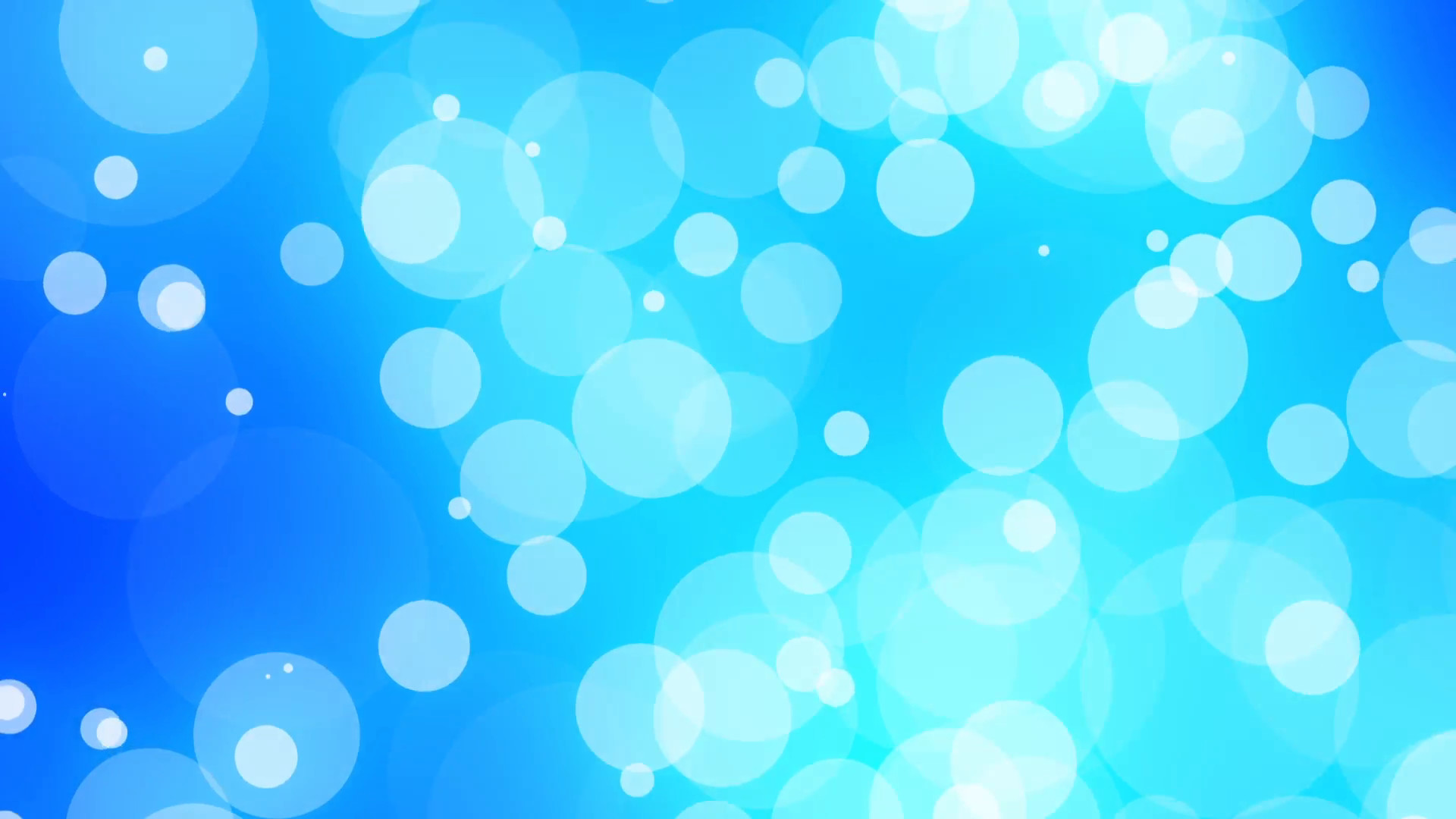 Subscription Library Light Blue Moving Circles Psychedelic Abstract VJ  Background Loop
