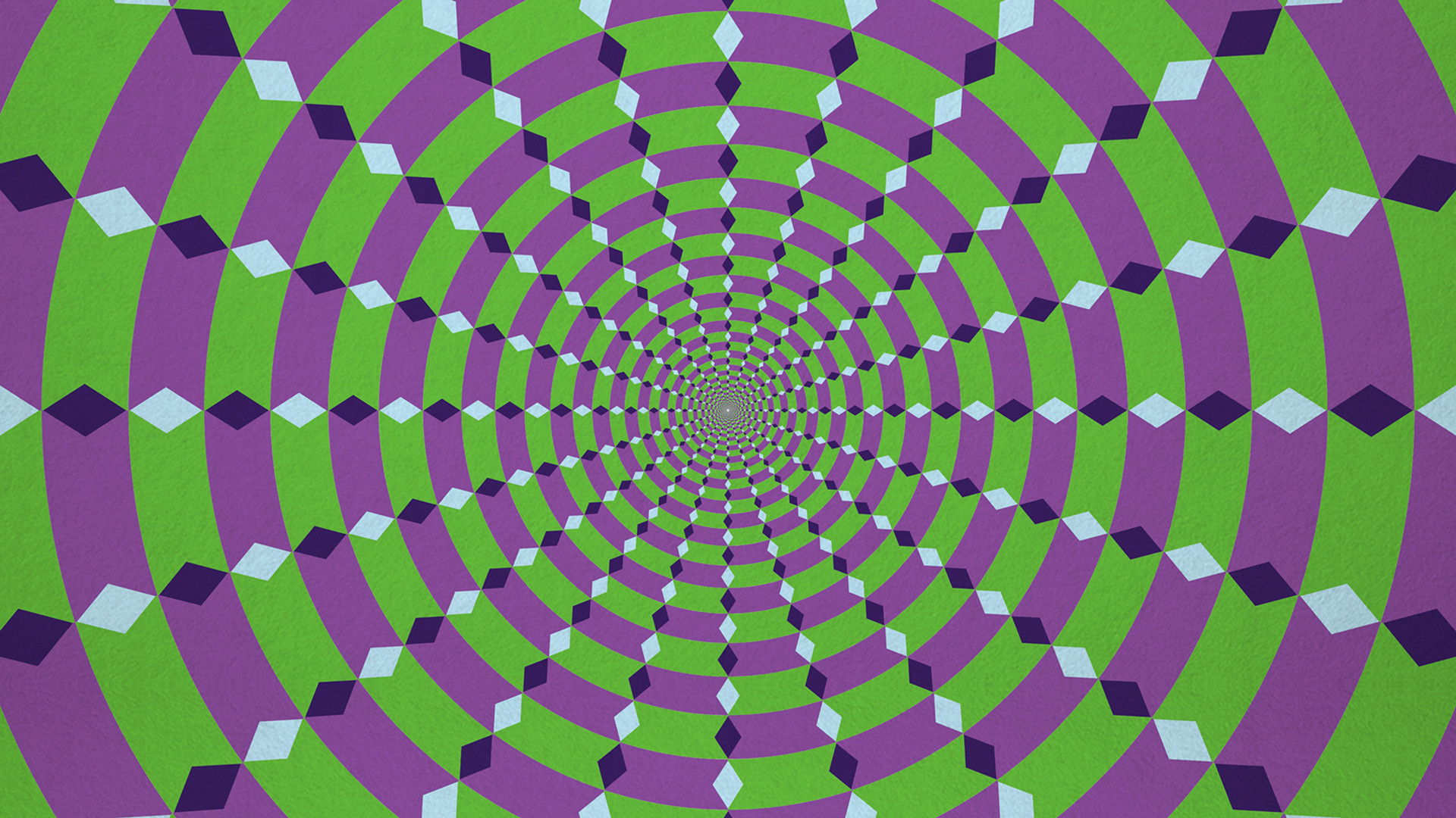 Includes famous optical illusions like the Hermann Grid, the café wall  illusion, Fraser's Spiral, motion illusions and more!
