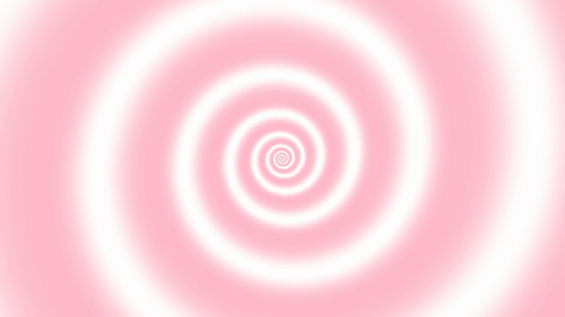 Subscription Library Hypnotic soft pink-white spiral background, loop, PAL