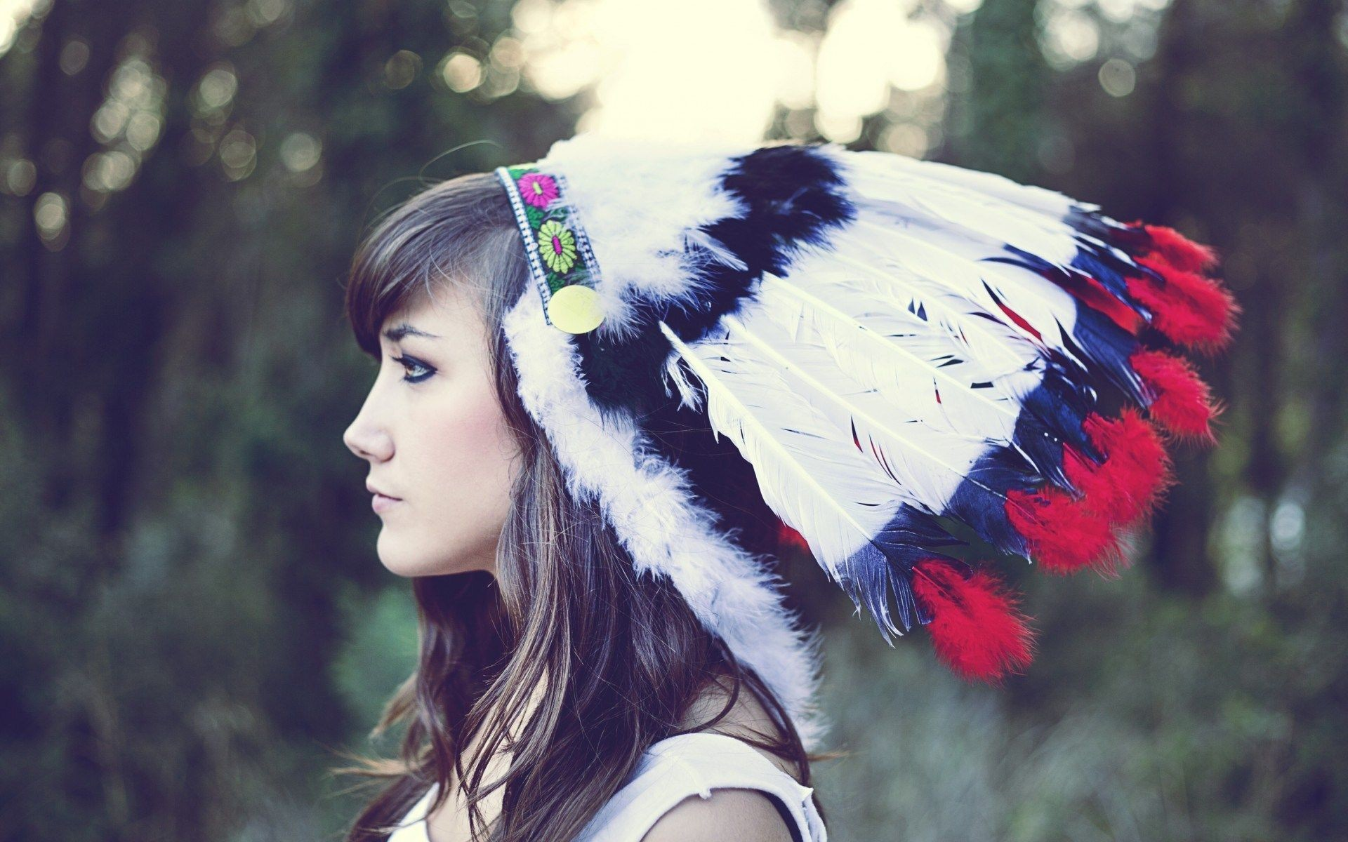 Girls Headdress 37 Cool Wallpaper – XDwallpaper.com