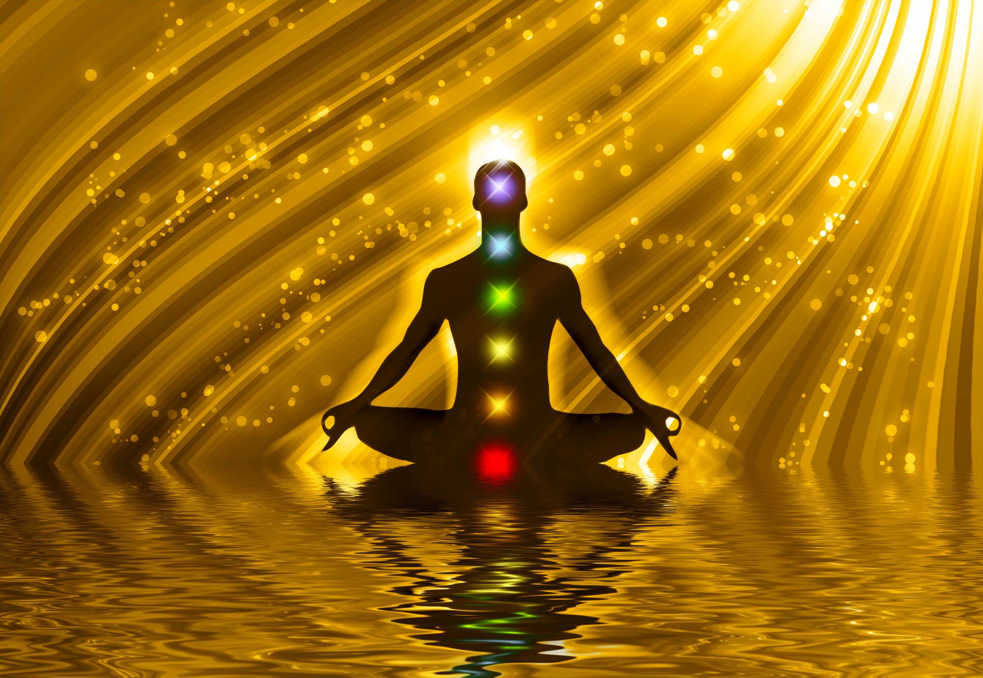 Meditation Chakra Art