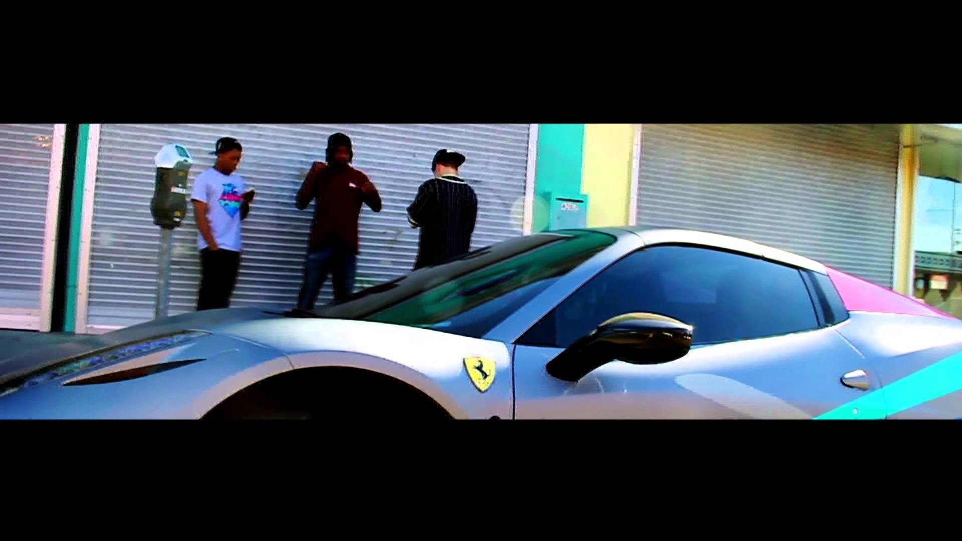 A Closer Look at The Pink Dolphin Ferraris