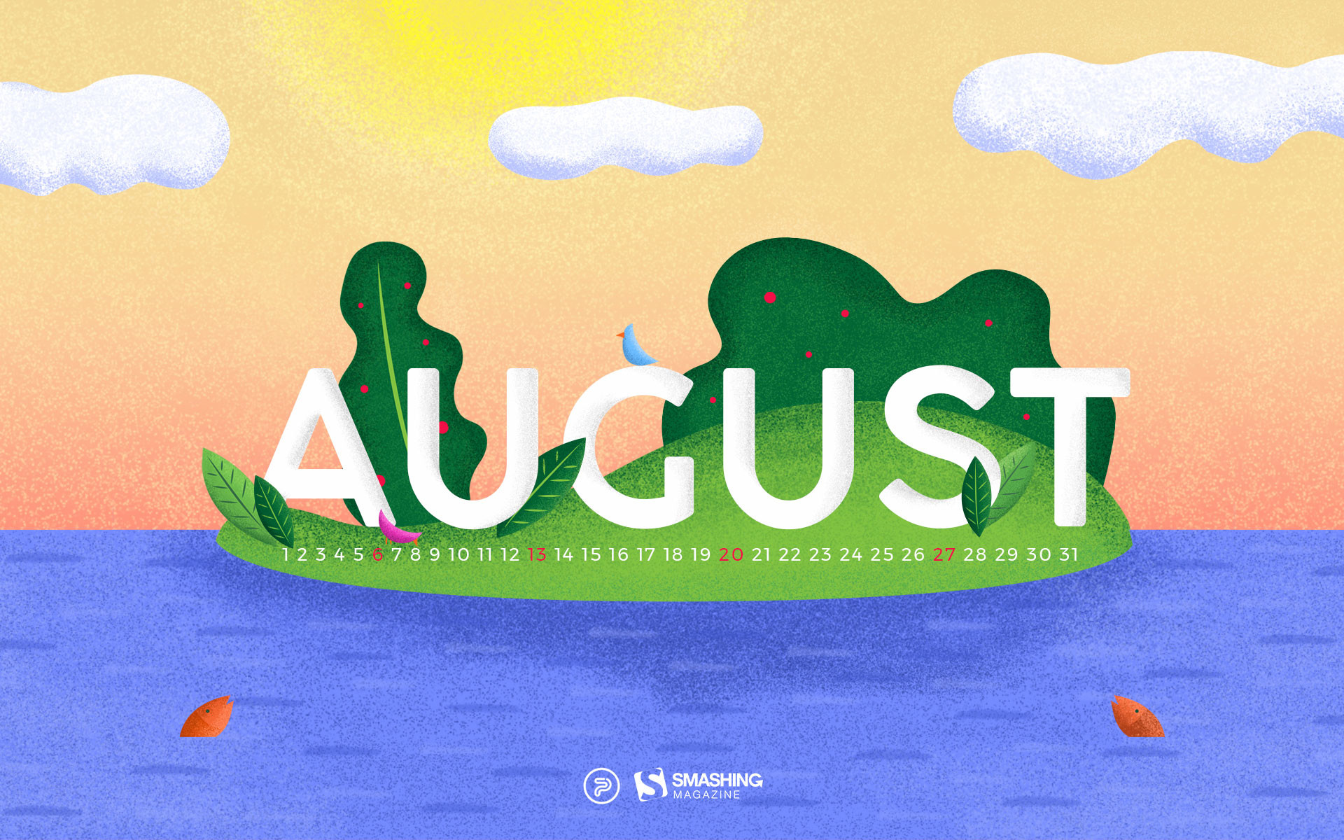 """Happiness Happens In August. """""""