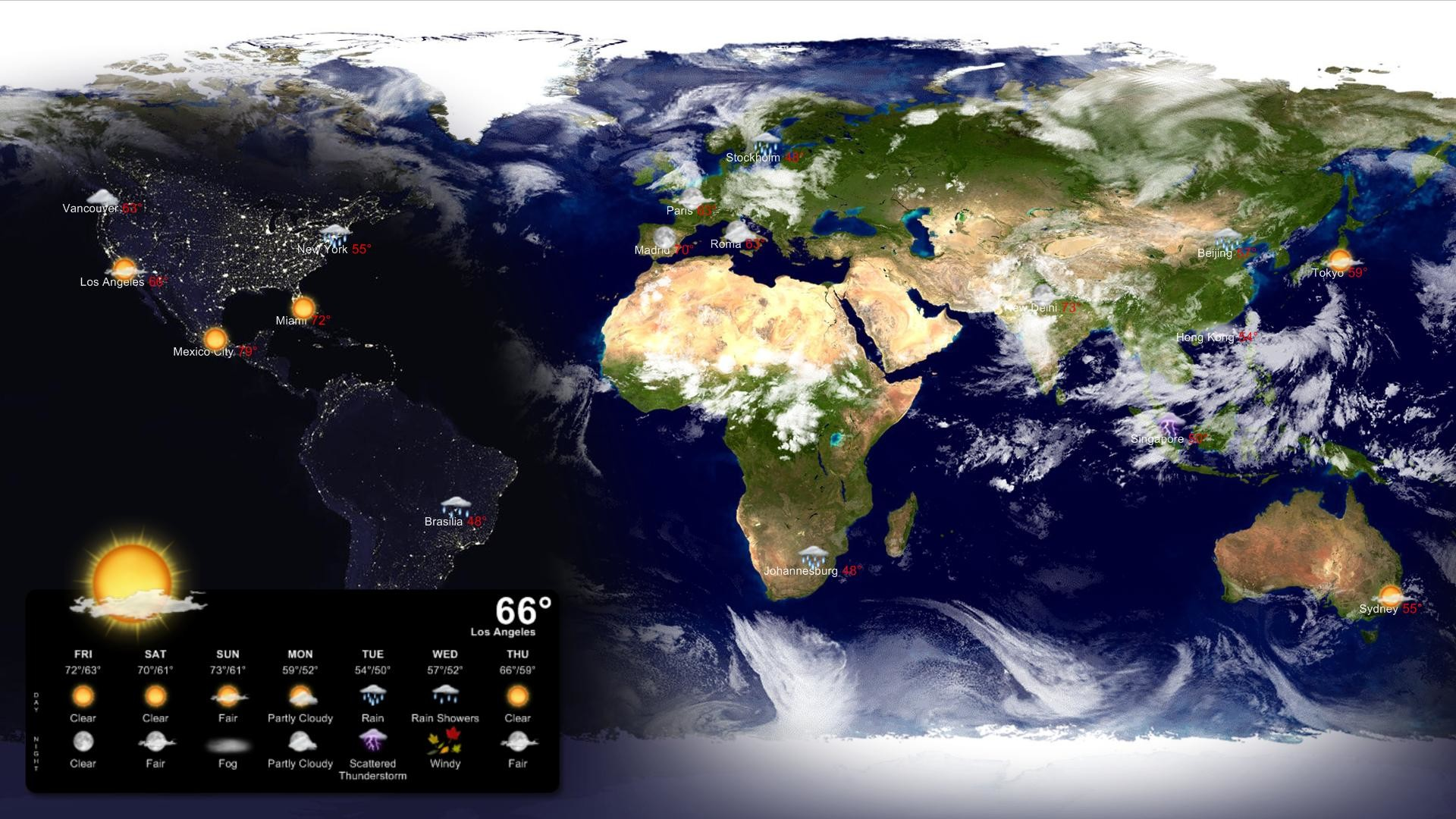Download – Living Earth Desktop Wallpaper and Screen Saver