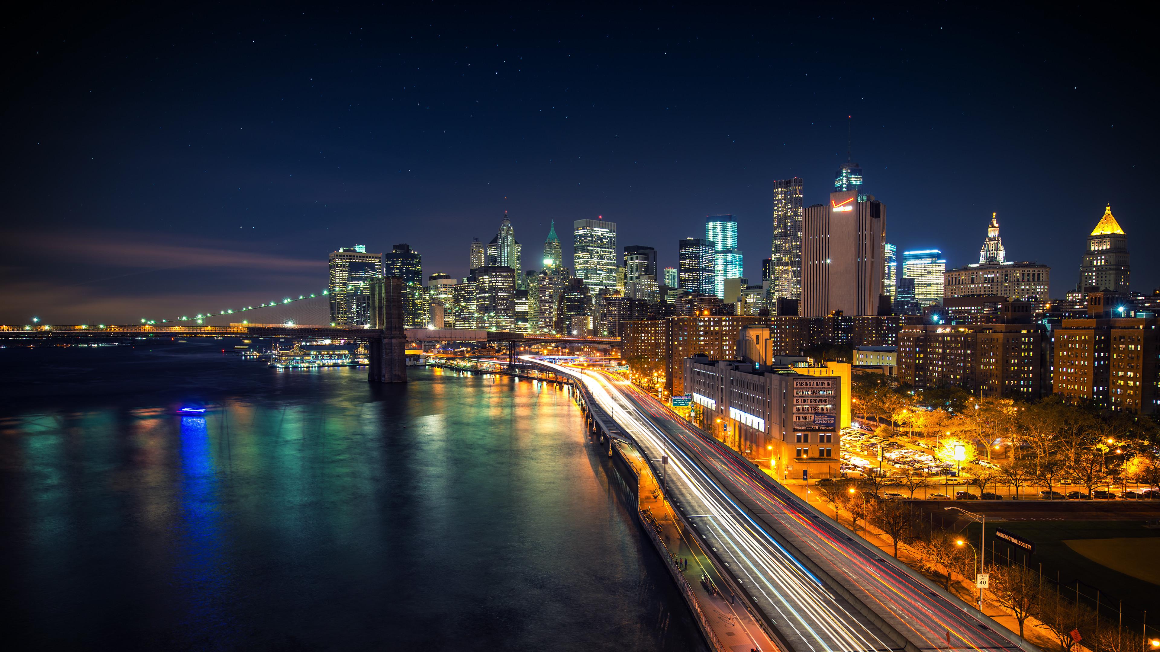 City Night Wallpaper 4k | Free Desktop Backgrounds