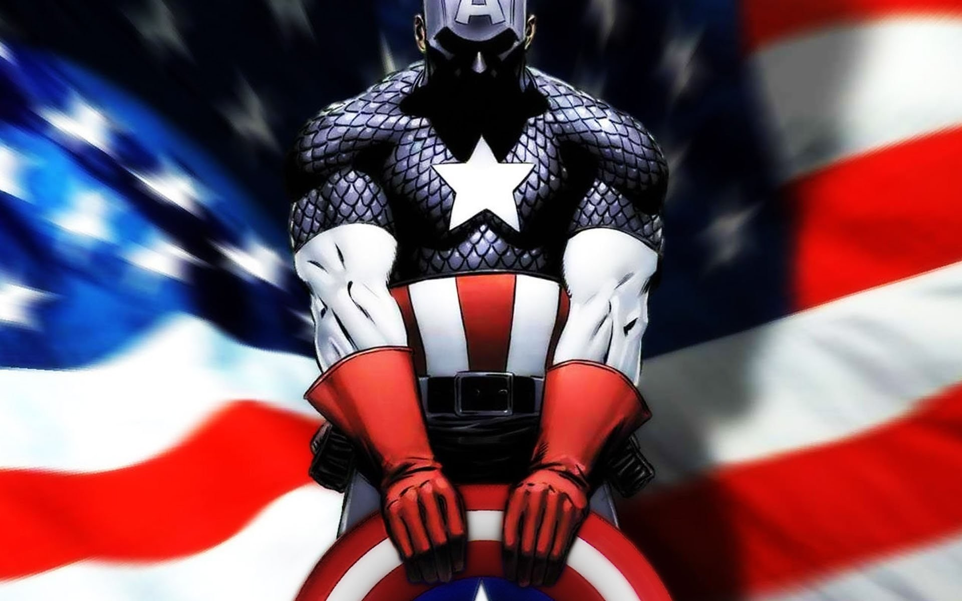 HD Wallpaper | Background ID:246522. Comics Captain America