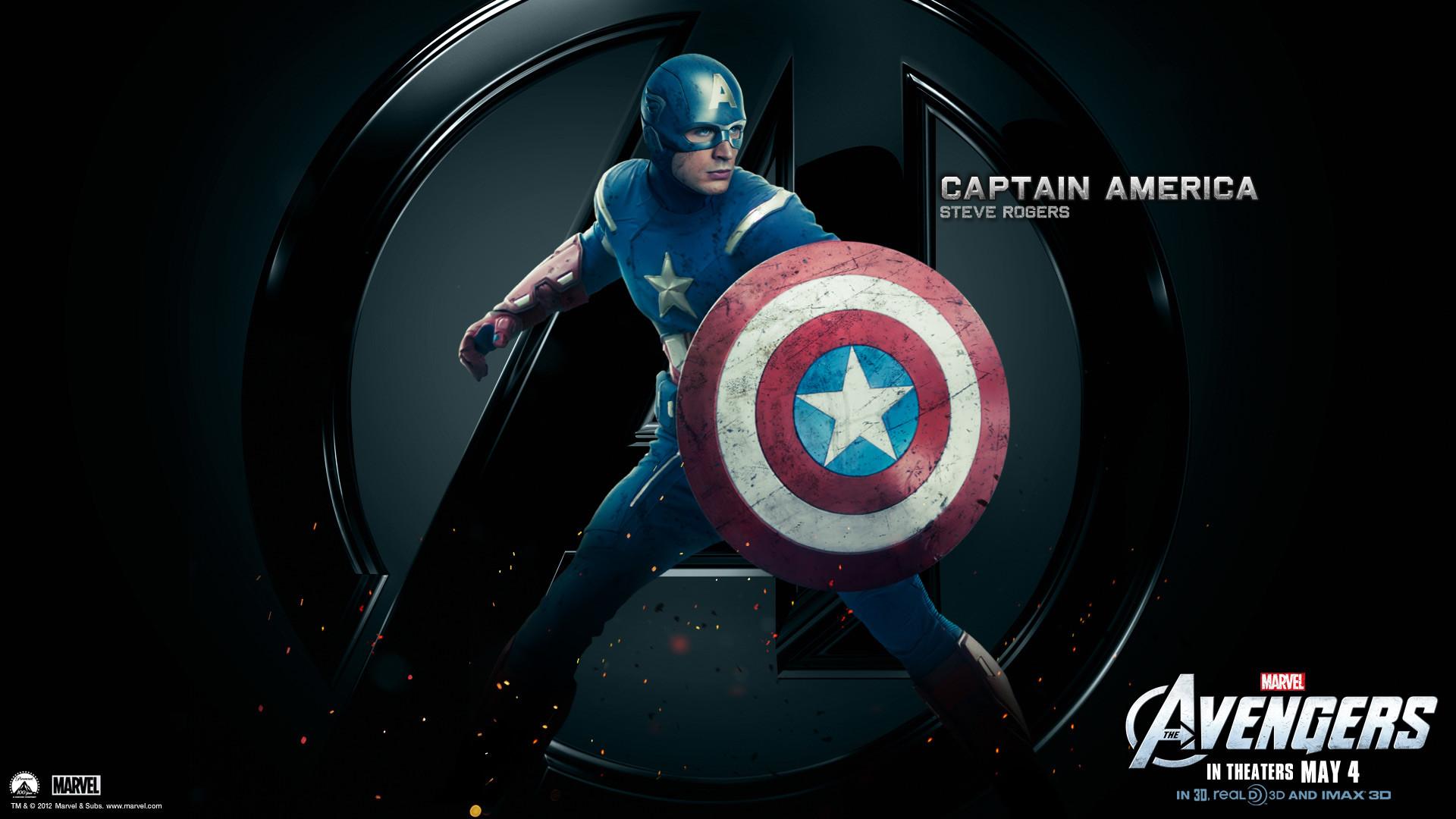 Marvel-The-Avengers-Movie-2012-HD-Wallpaper-Captain-