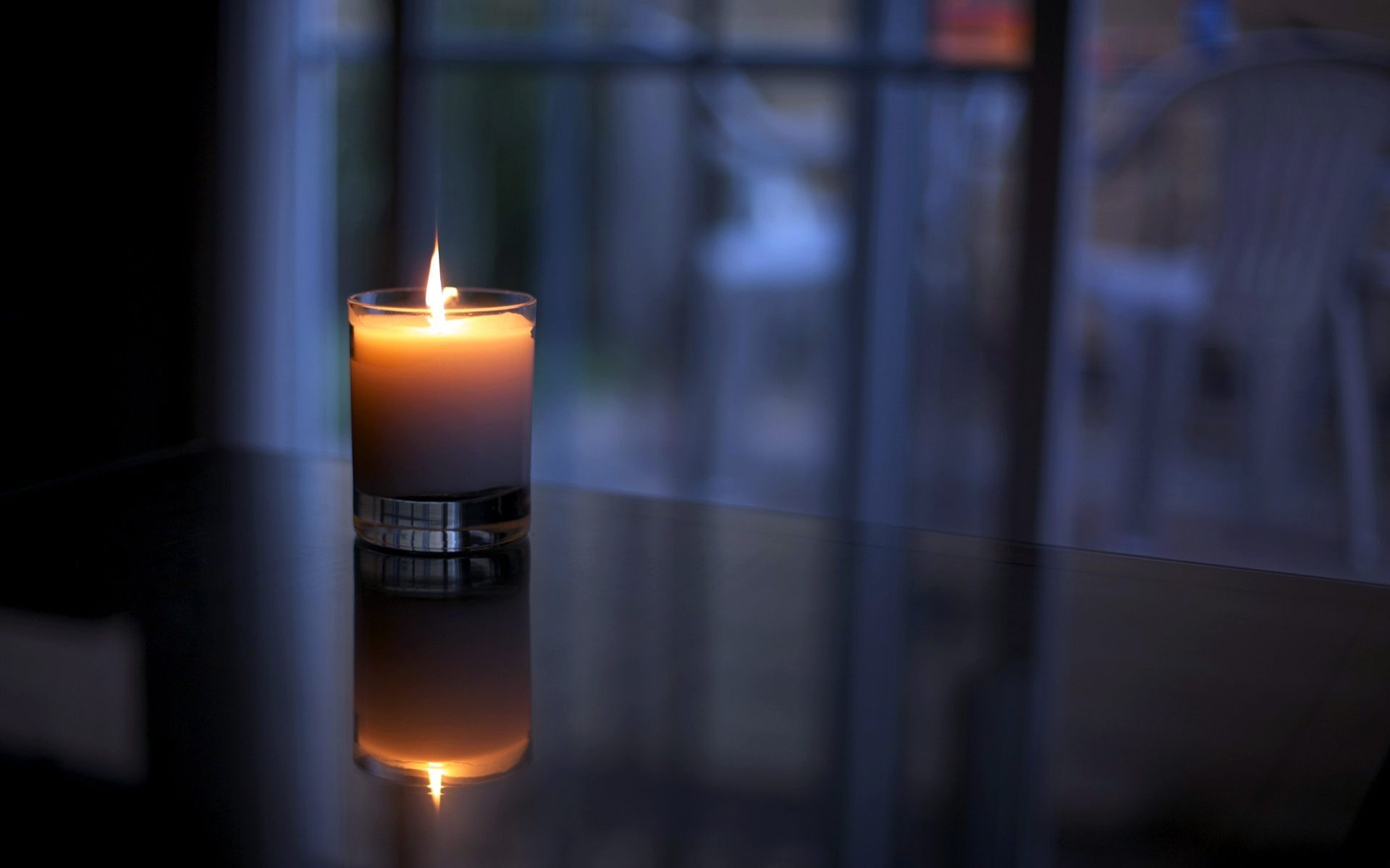 Candle light quit night HD wallpaper