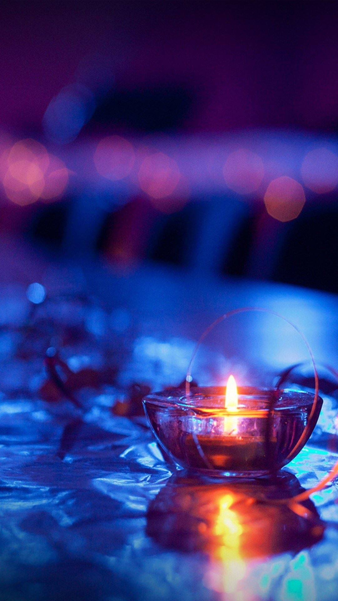Candle Light iPhone 6 Plus HD Wallpaper …