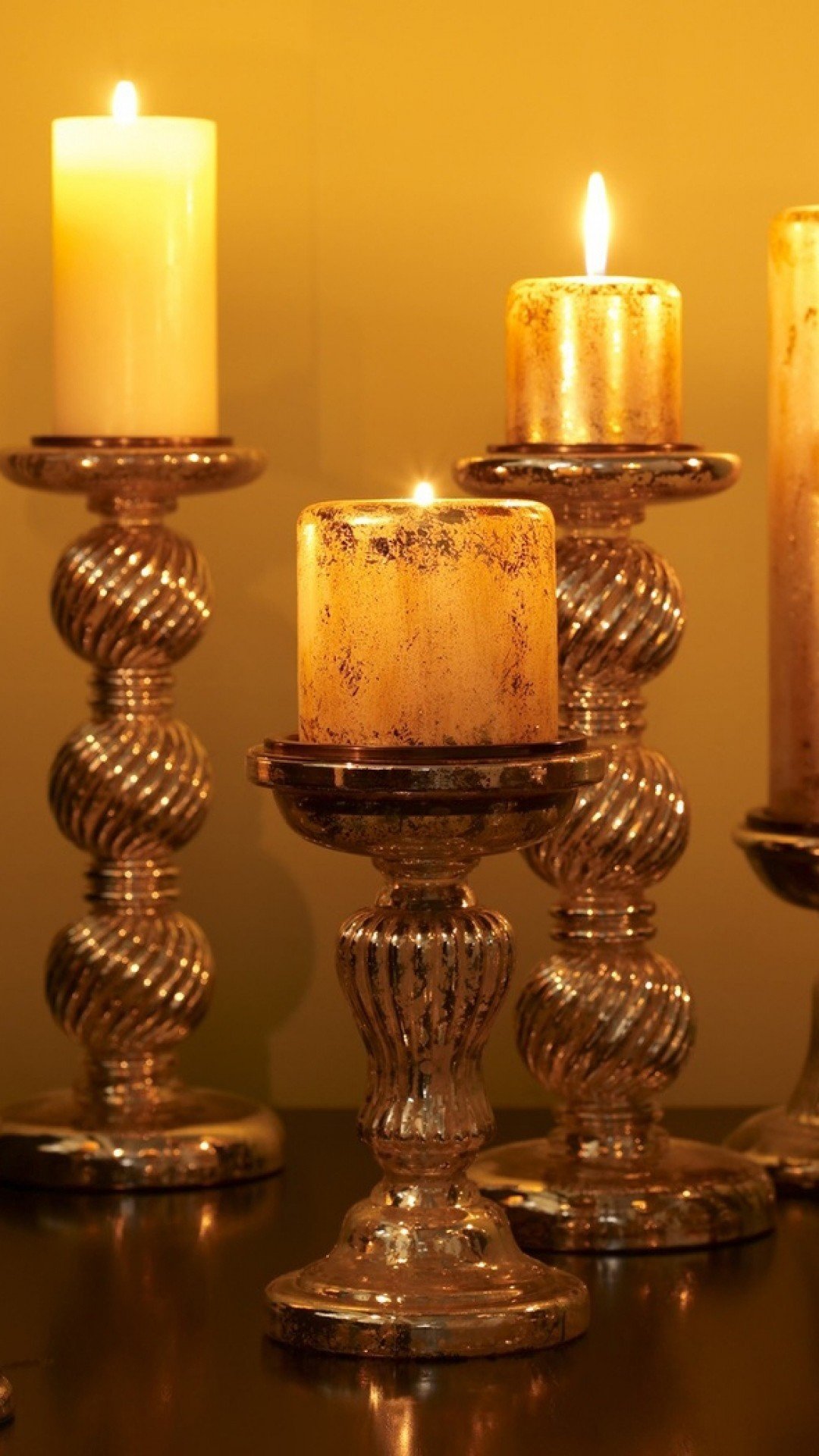 Wallpaper candles, light, fire, candle