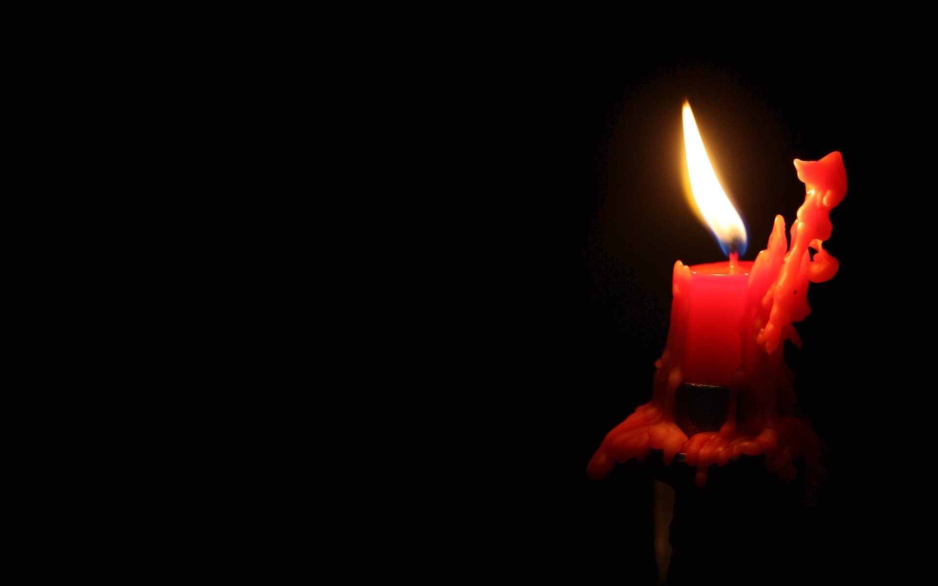 Candles In The Dark HD Wallpaper | 3D & Abstract Wallpapers